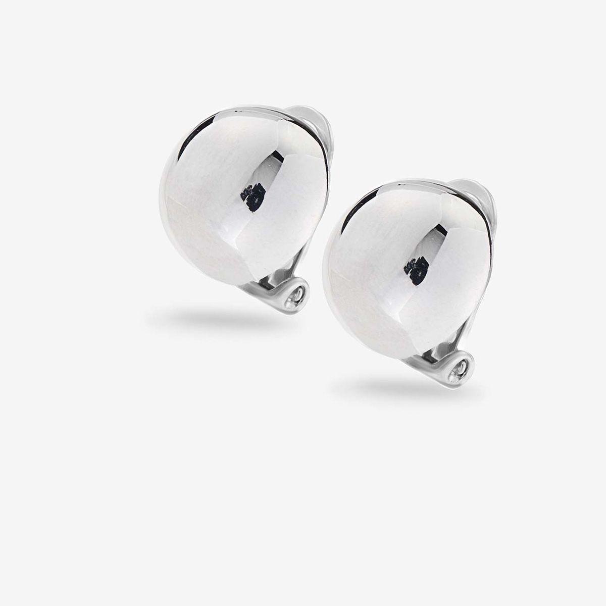 Medium Clip - Ohrclips - Silber