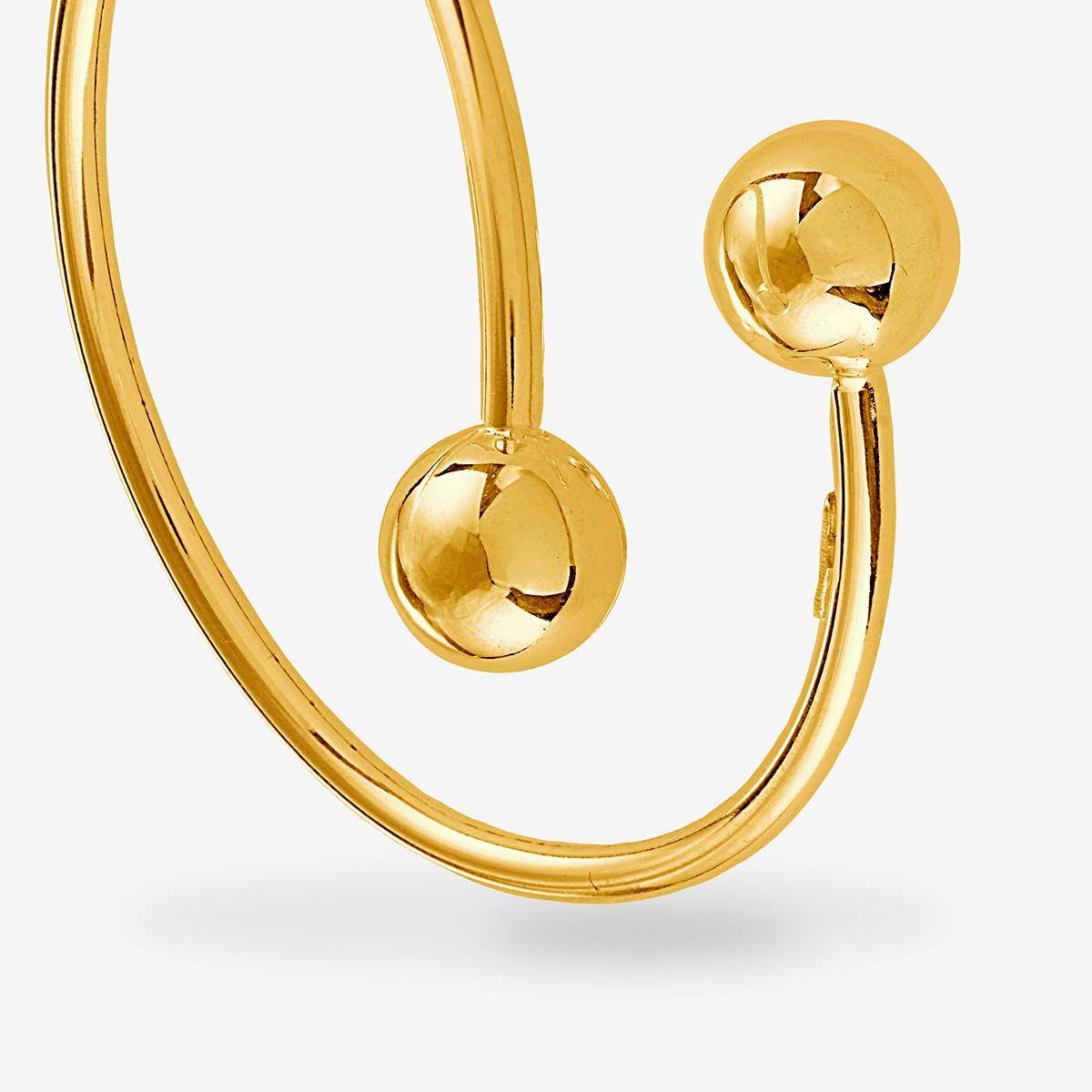 Bold Twisted - Armreifen - Gold