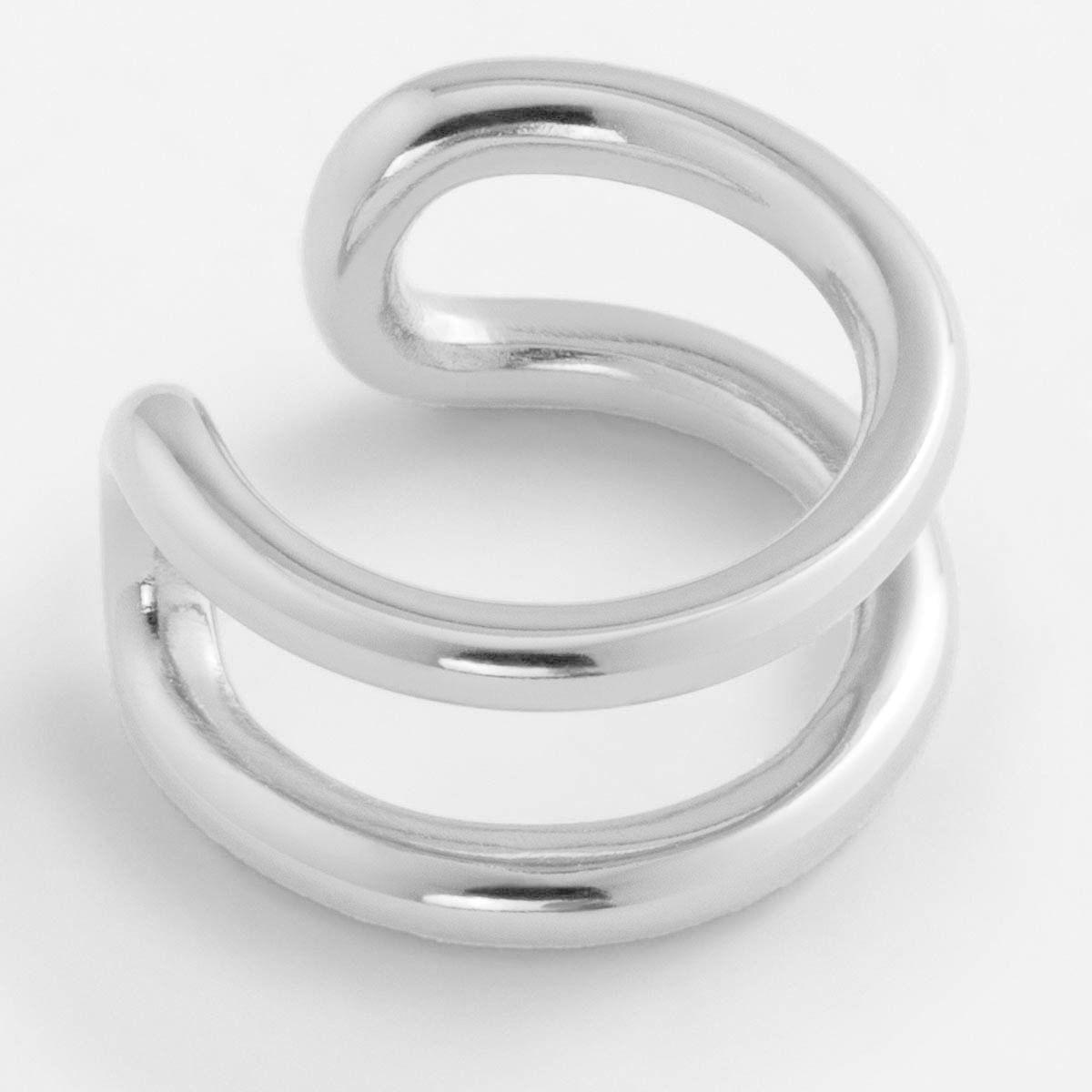 Lina - Earcuffs - Silber