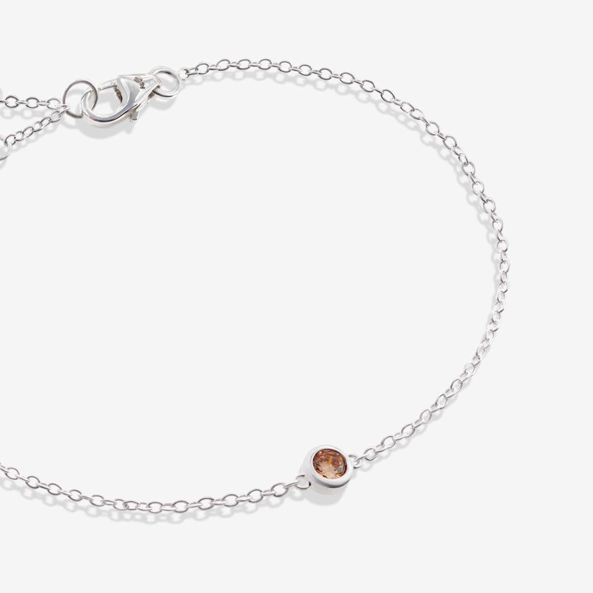 Skara - Armband - Silber