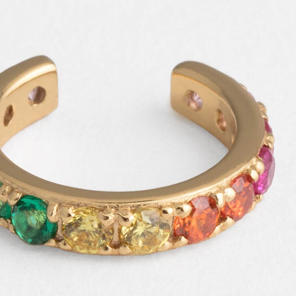 Rainbow - Earcuffs - Goldgelb