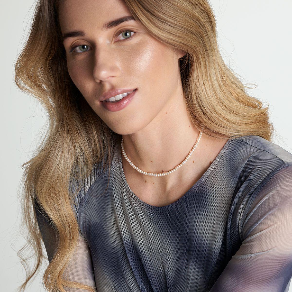 Roxanne - Perlenketten - 18k vergoldet