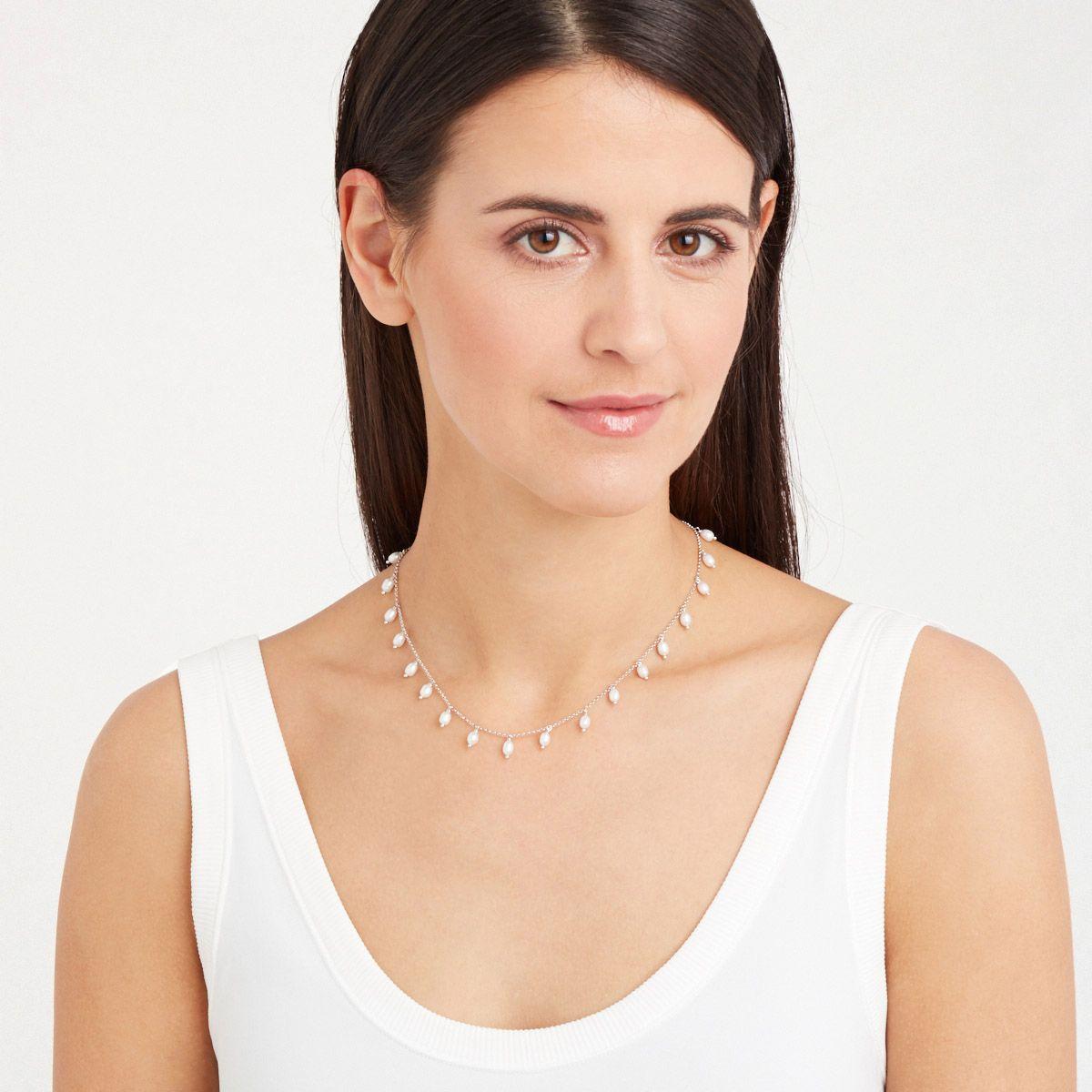 Ramona - Perlenketten - Gold