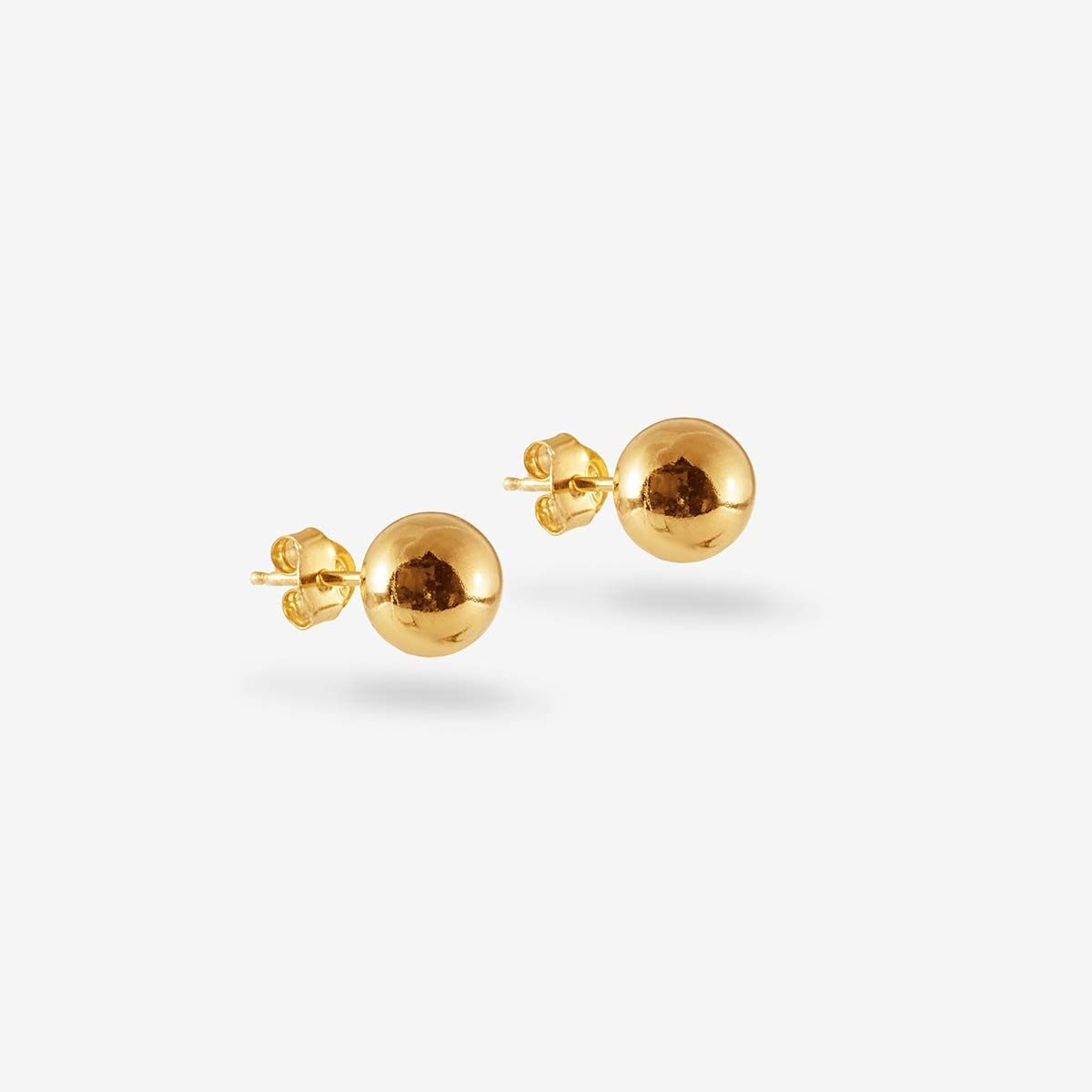 Mini Ball - Ohrstecker - Gold