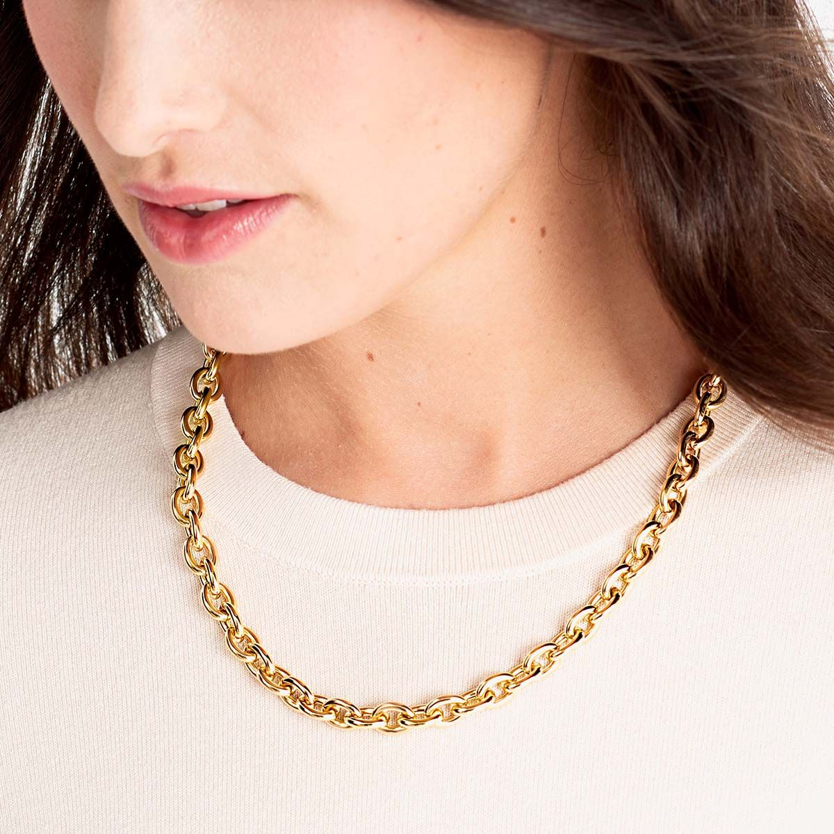 Hailey - Halsketten - Silber