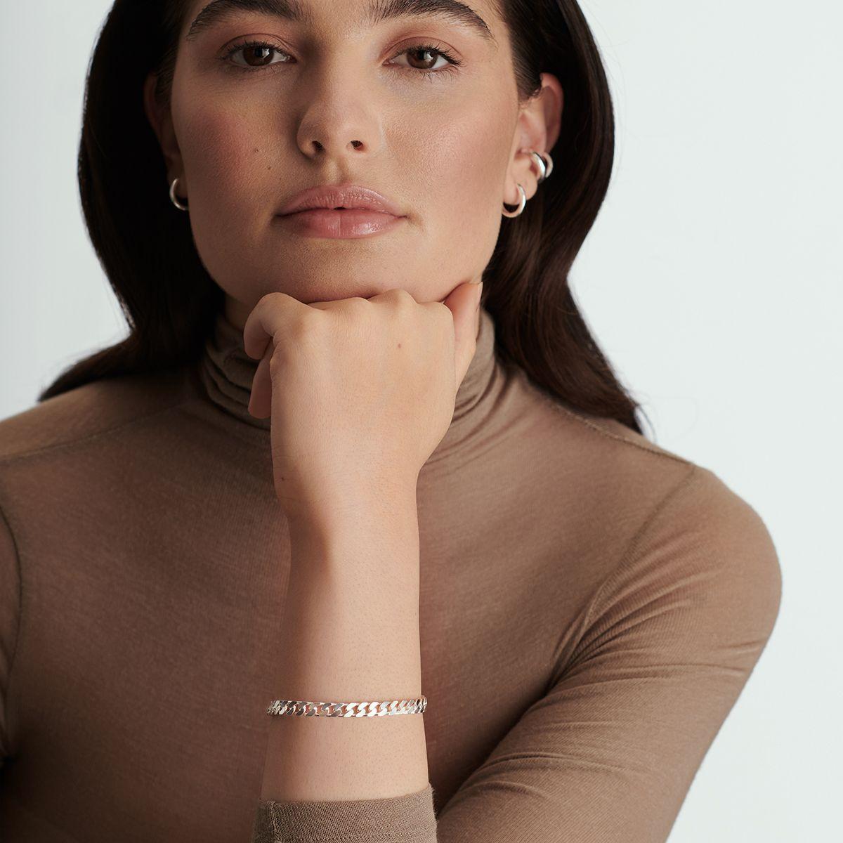 Polly - Armband - Silber