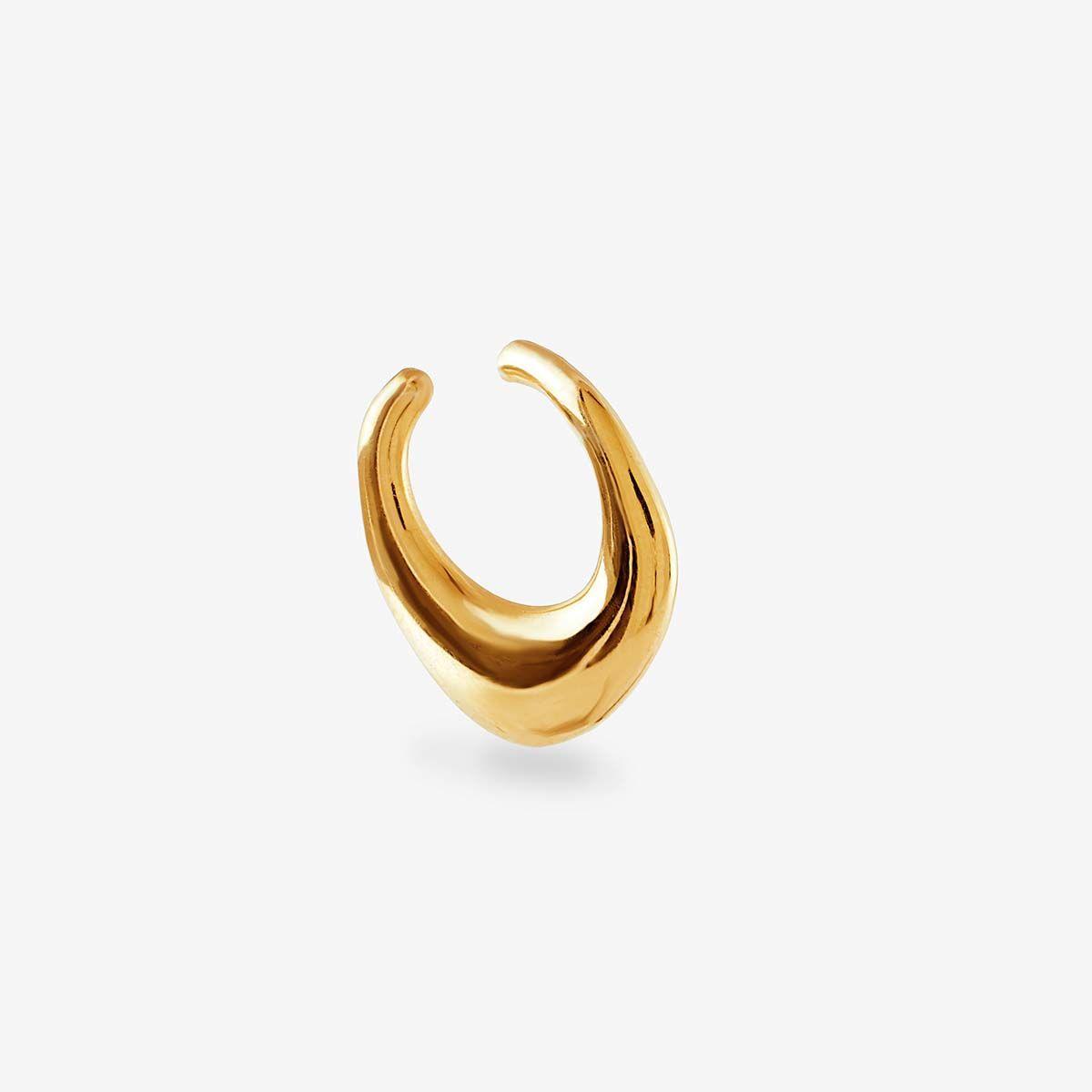 Drip - Earcuffs - 18k vergoldet