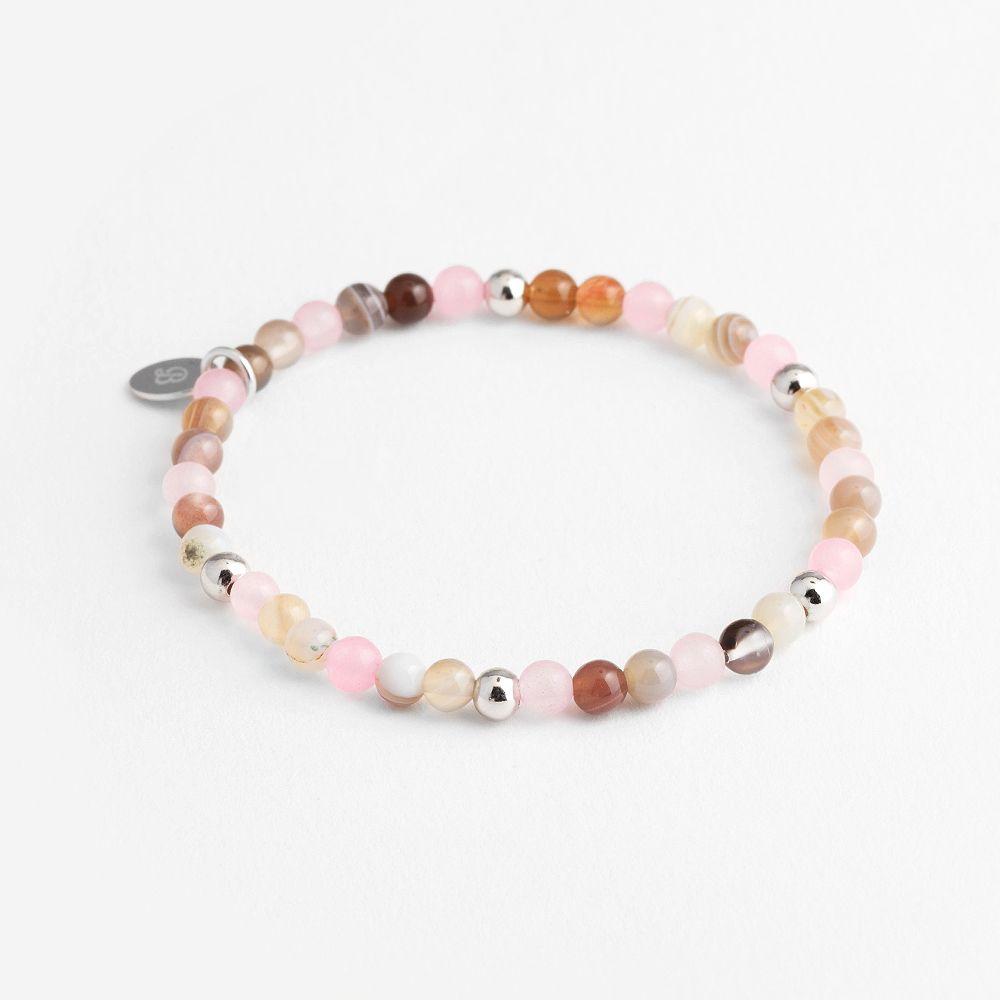Elastische Armbänder - Rosa
