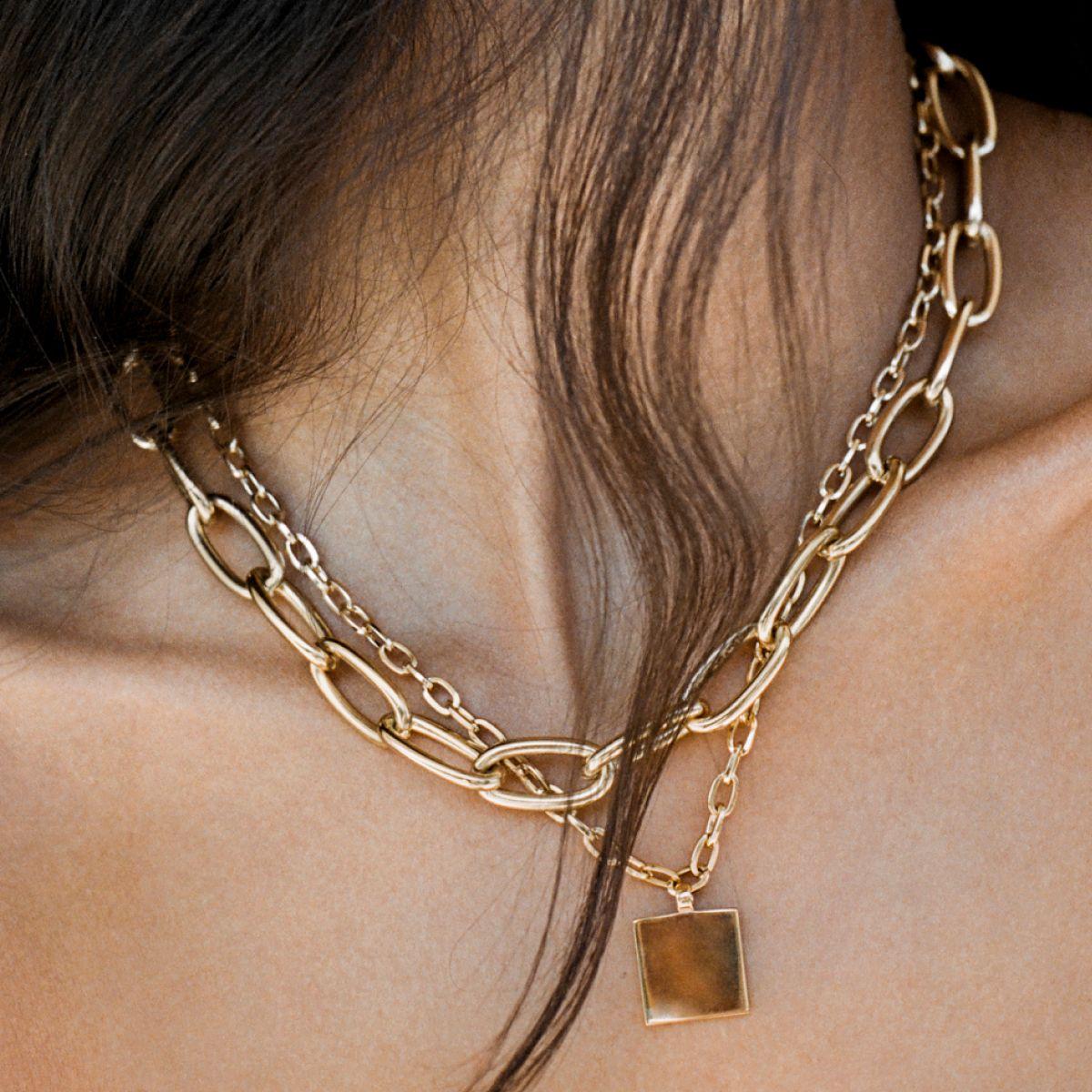 Classic Chain - Halsketten - Gold