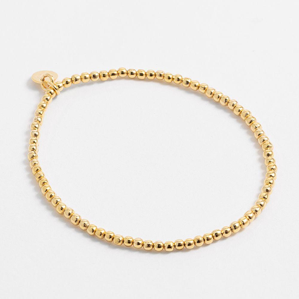 Beaded - Armband - Gold