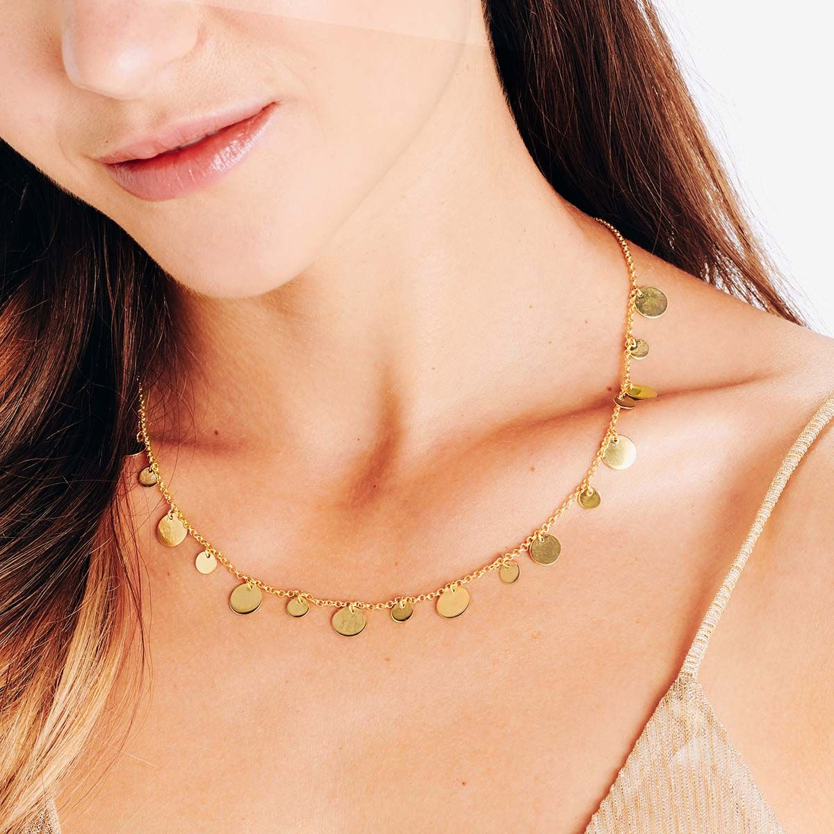 Lucie - Halsketten - 18k vergoldet