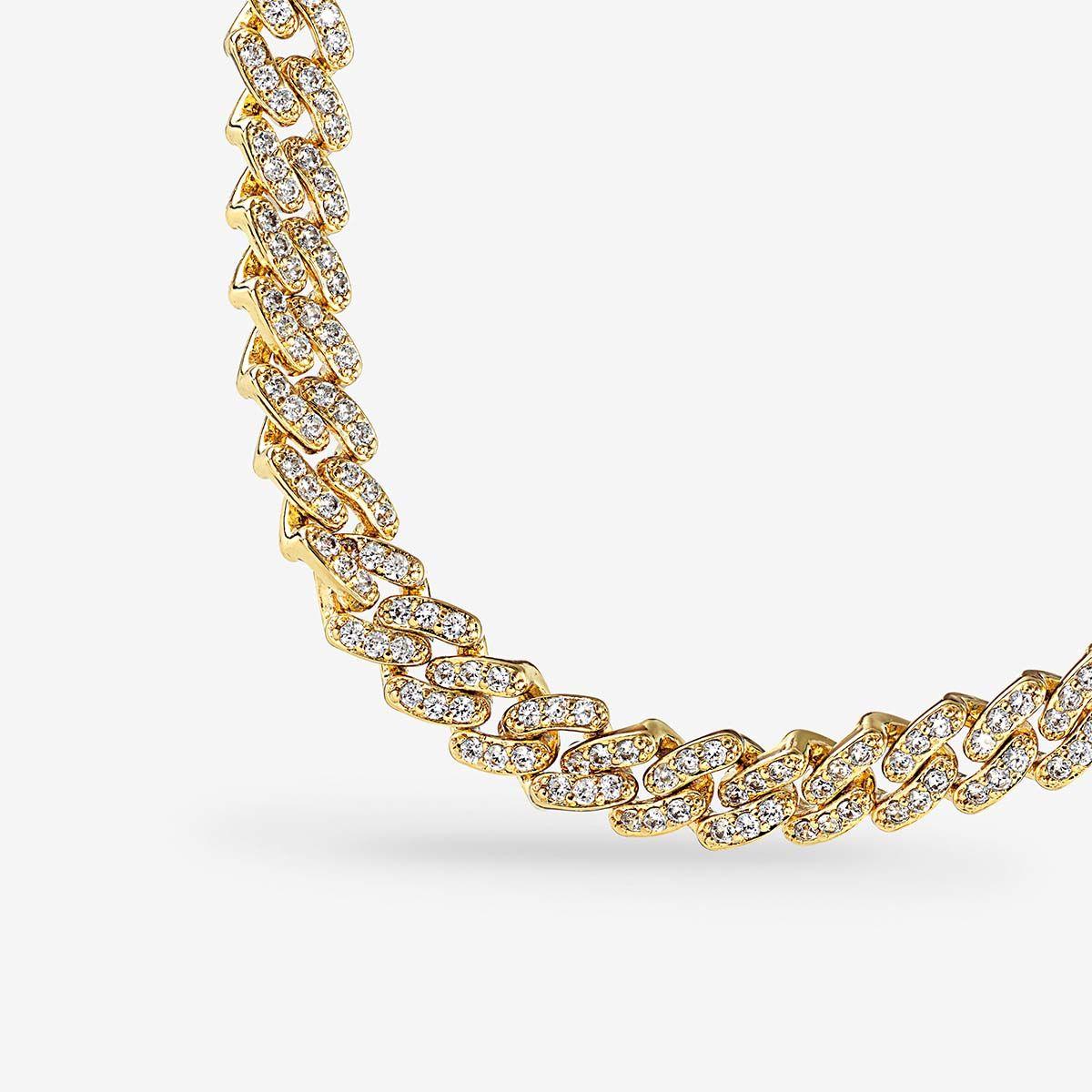 Mexican Chain - Halsketten - 18k vergoldet