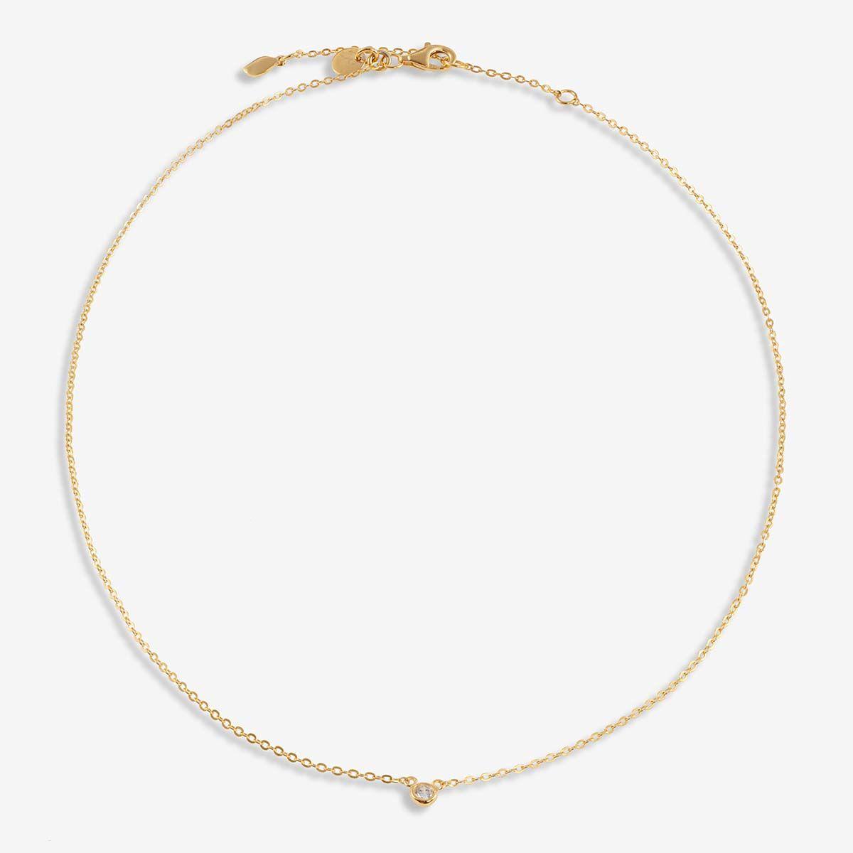 Wilma - Halsketten - 18k vergoldet