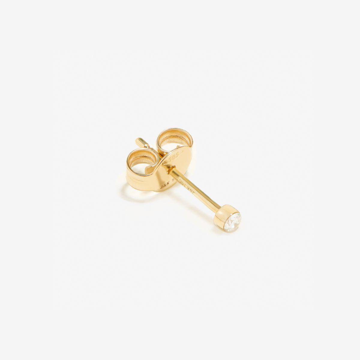 earring 001 - Single-Ohrringe - Gold