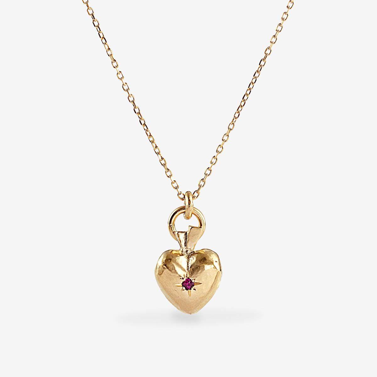 Valentin Ruby - Halsketten - Gold
