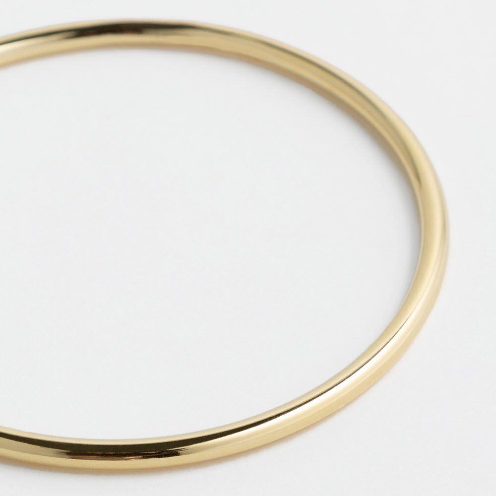 Shiny polished - Armreifen - Gold
