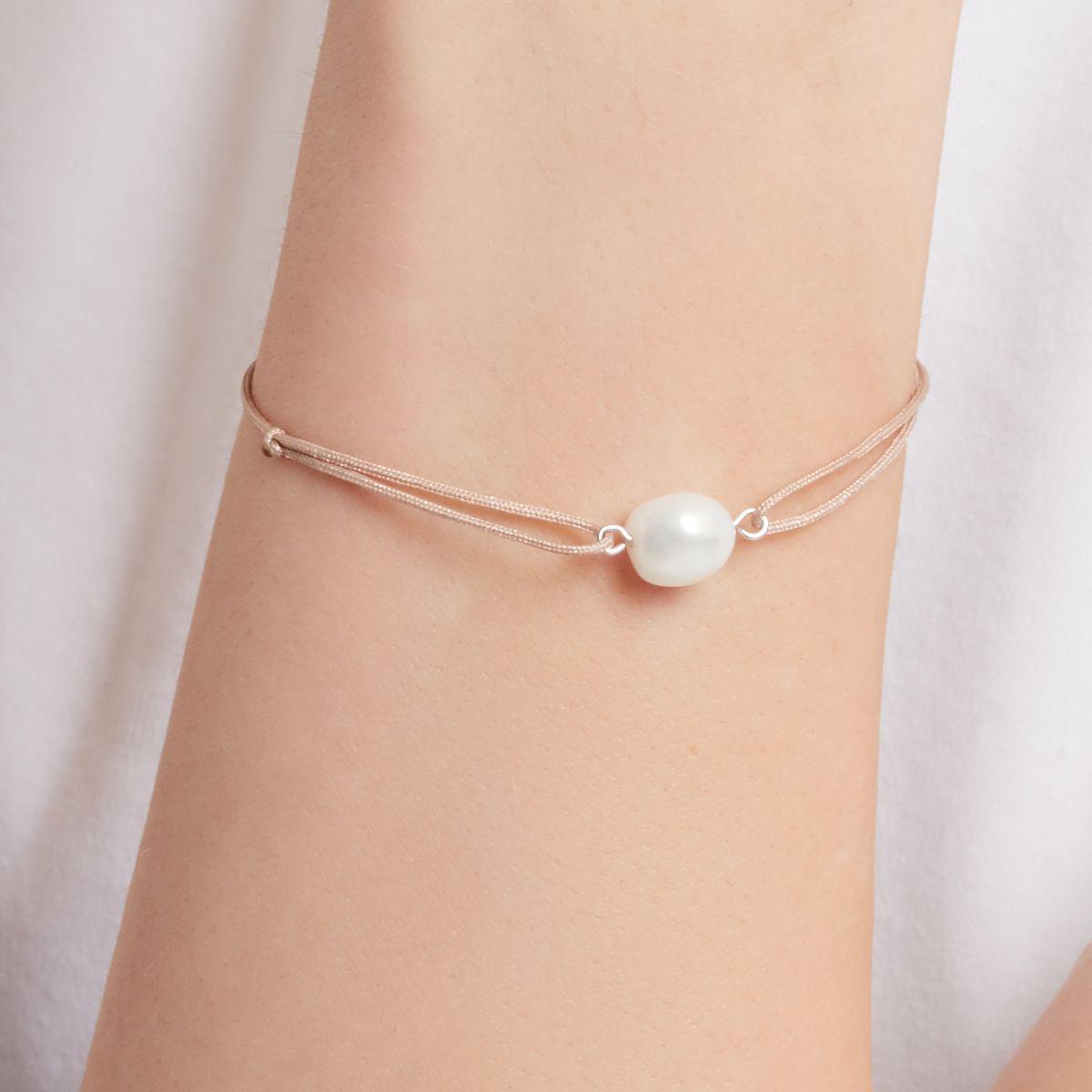 Ariel - Armband - Hellgrau