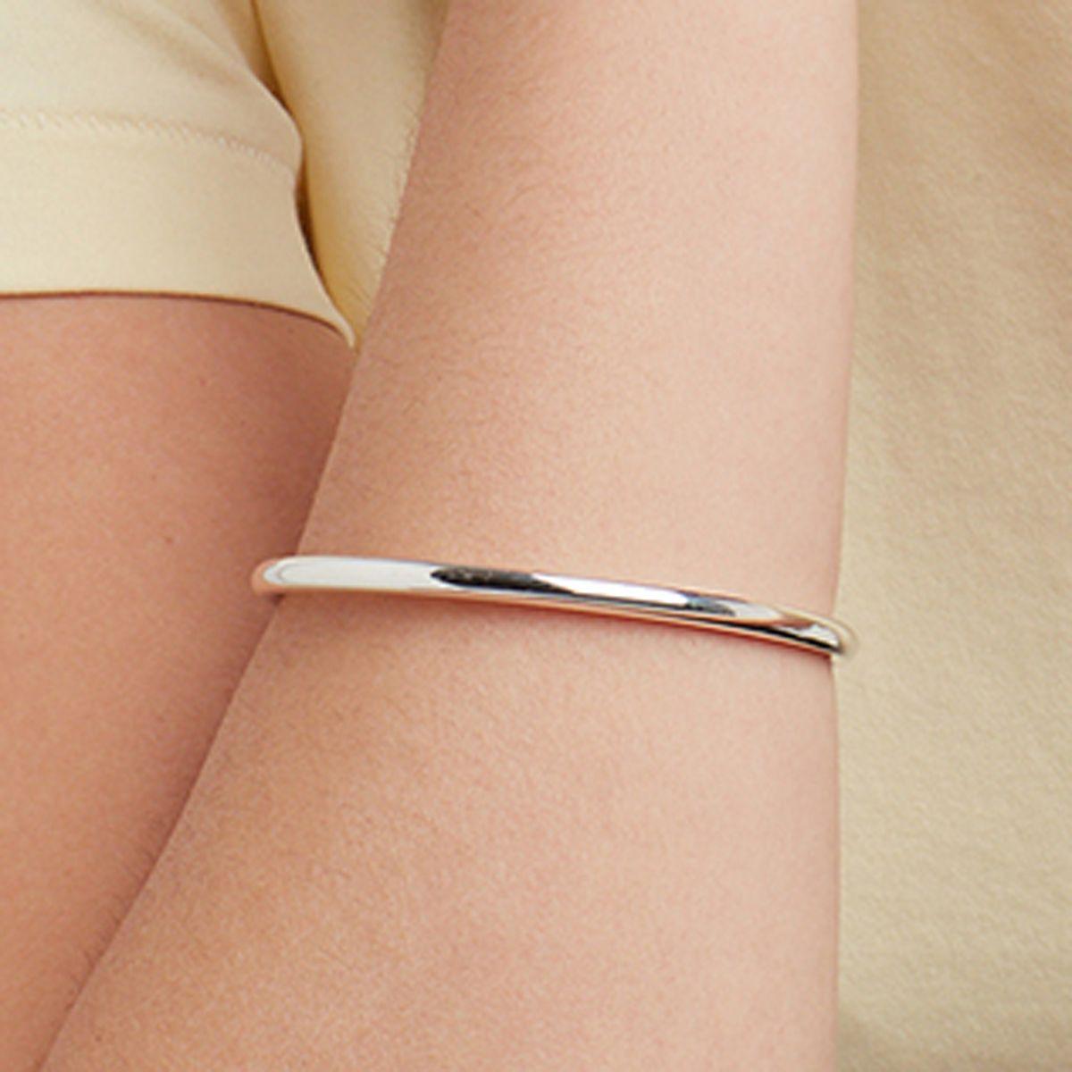 Alina - Armreifen - Silber