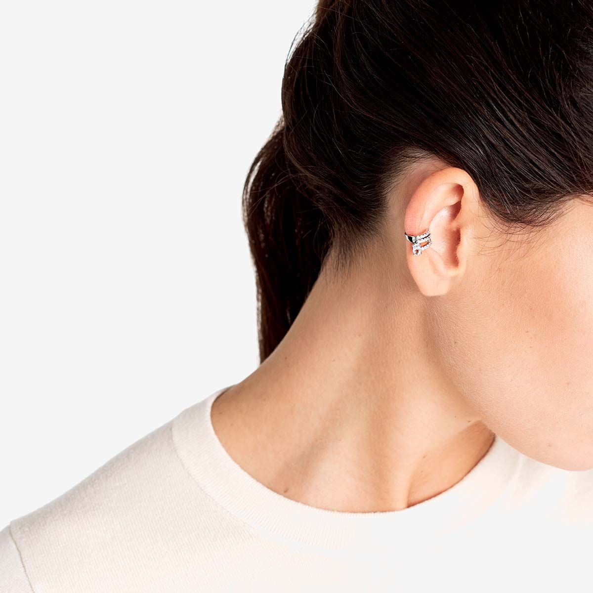 The Ballier Ear Cuff - Earcuffs - 18k vergoldet