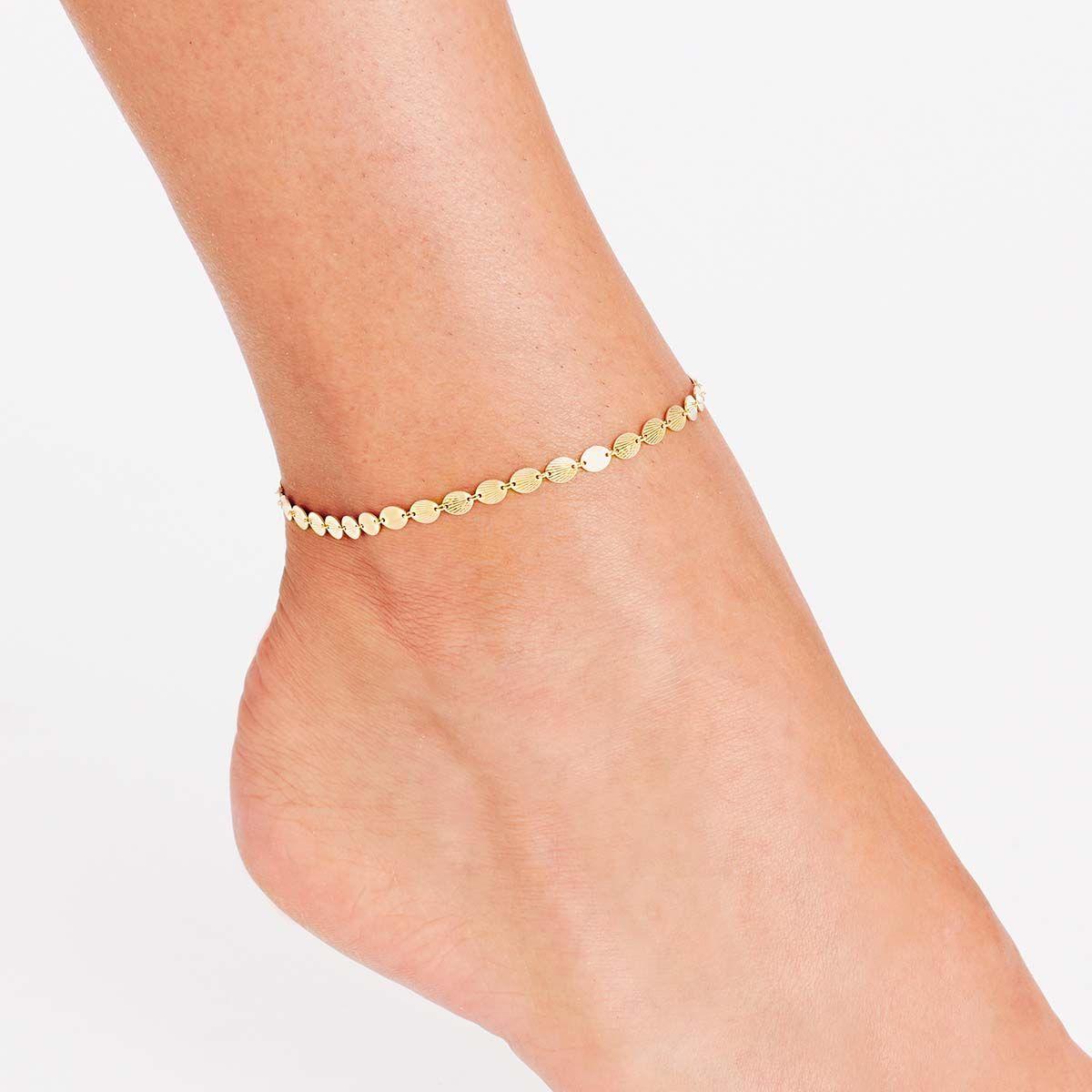 Fussketten - Gold