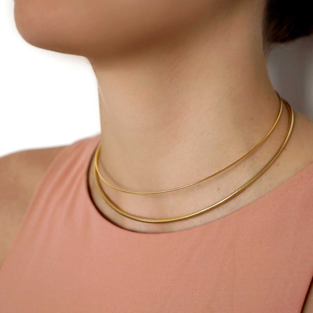 Cosmo Gold - Choker - Gold