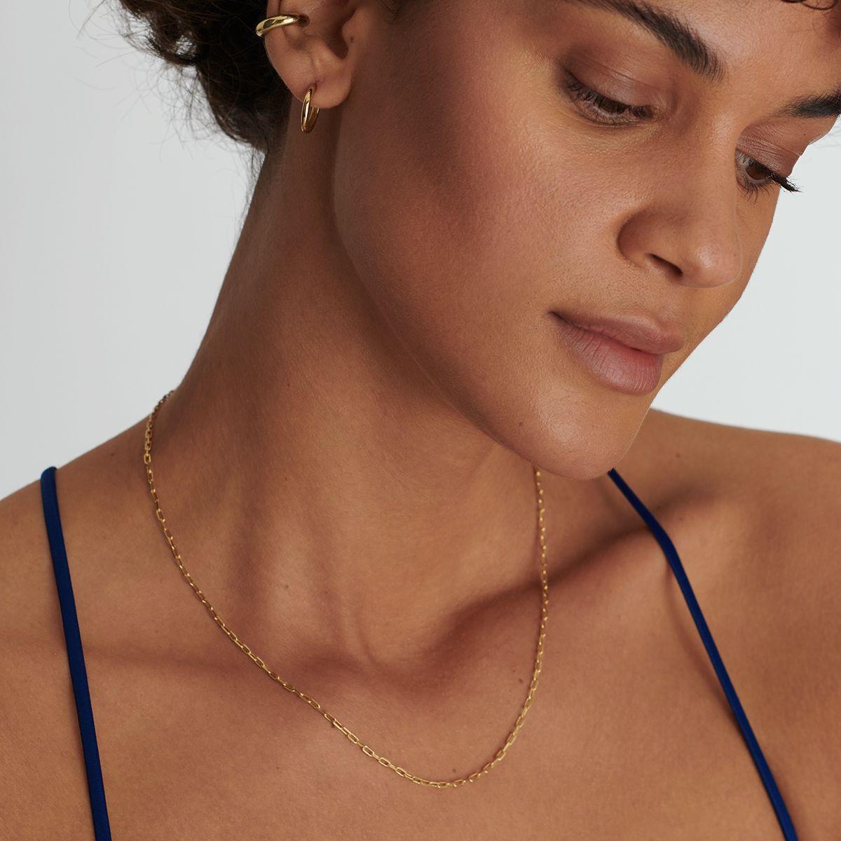 Felicitas - Halsketten - 18k vergoldet