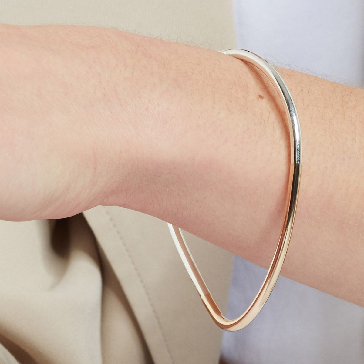 Convex - Armband - Silber & Gold