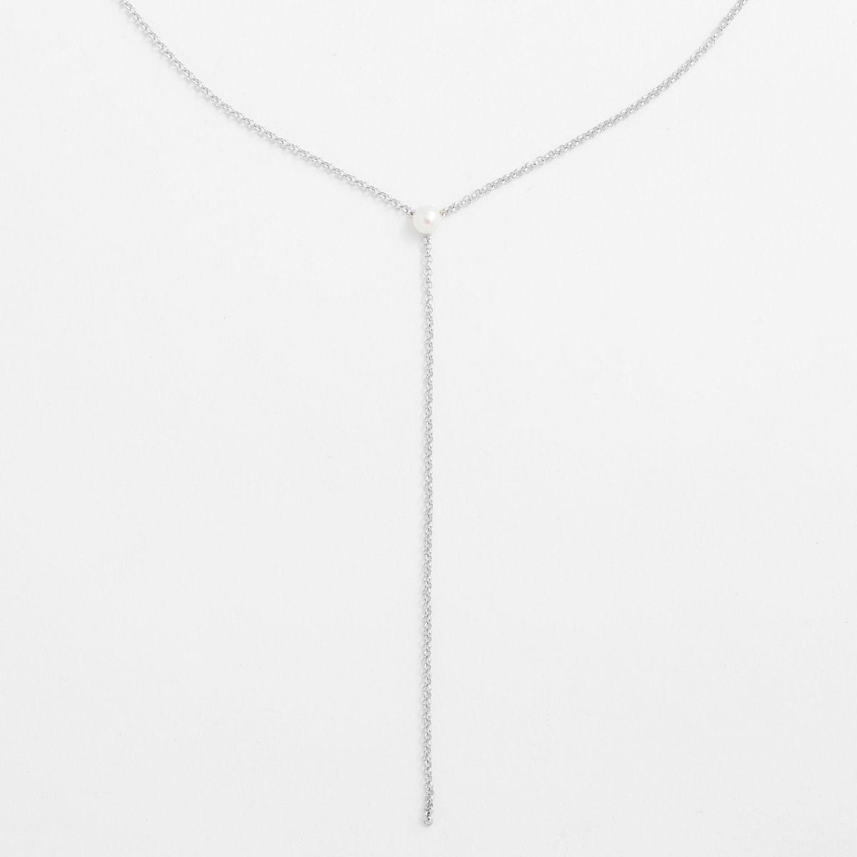 Eunice - PerlenKetten - Silber