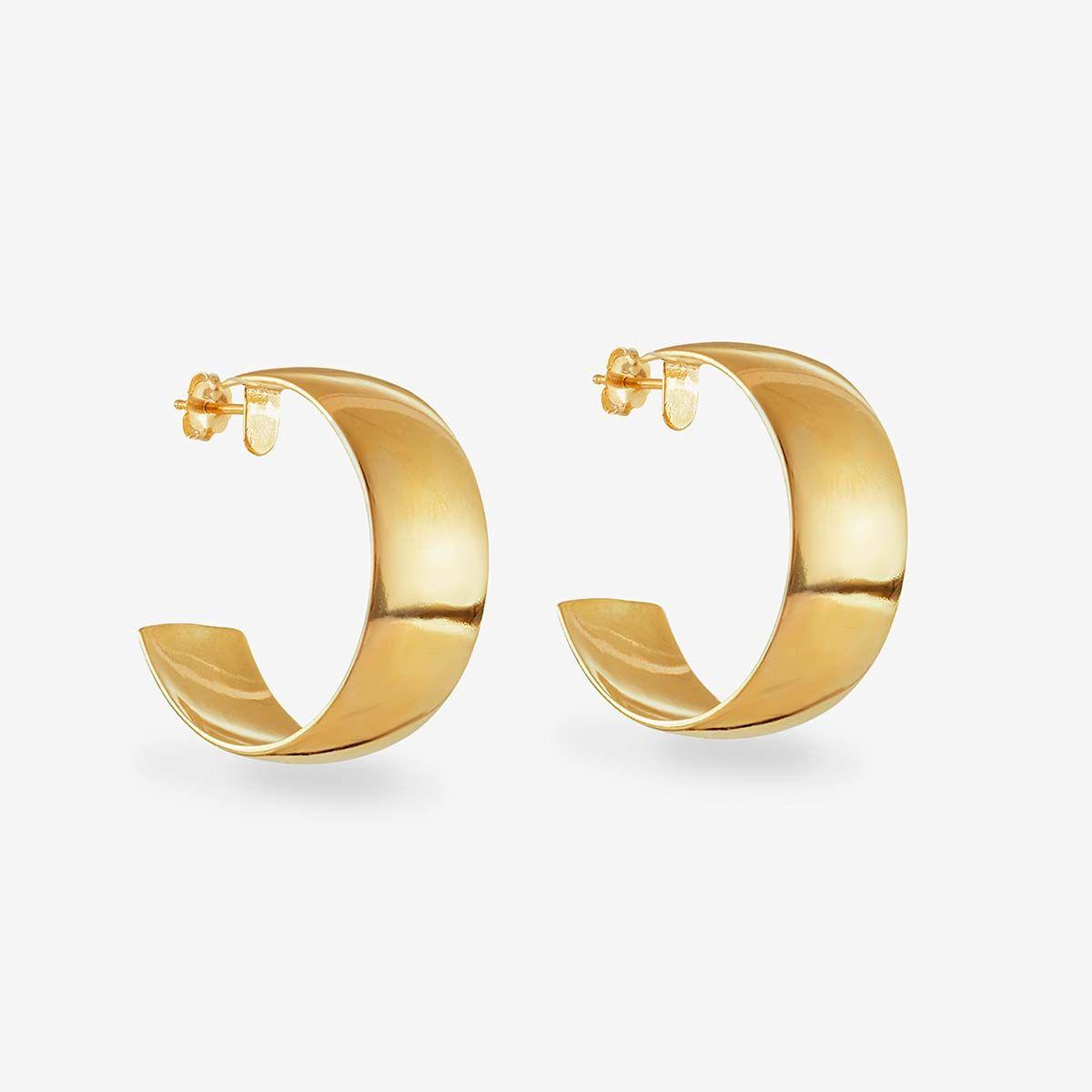 Classic Hoop - Creolen - Gold