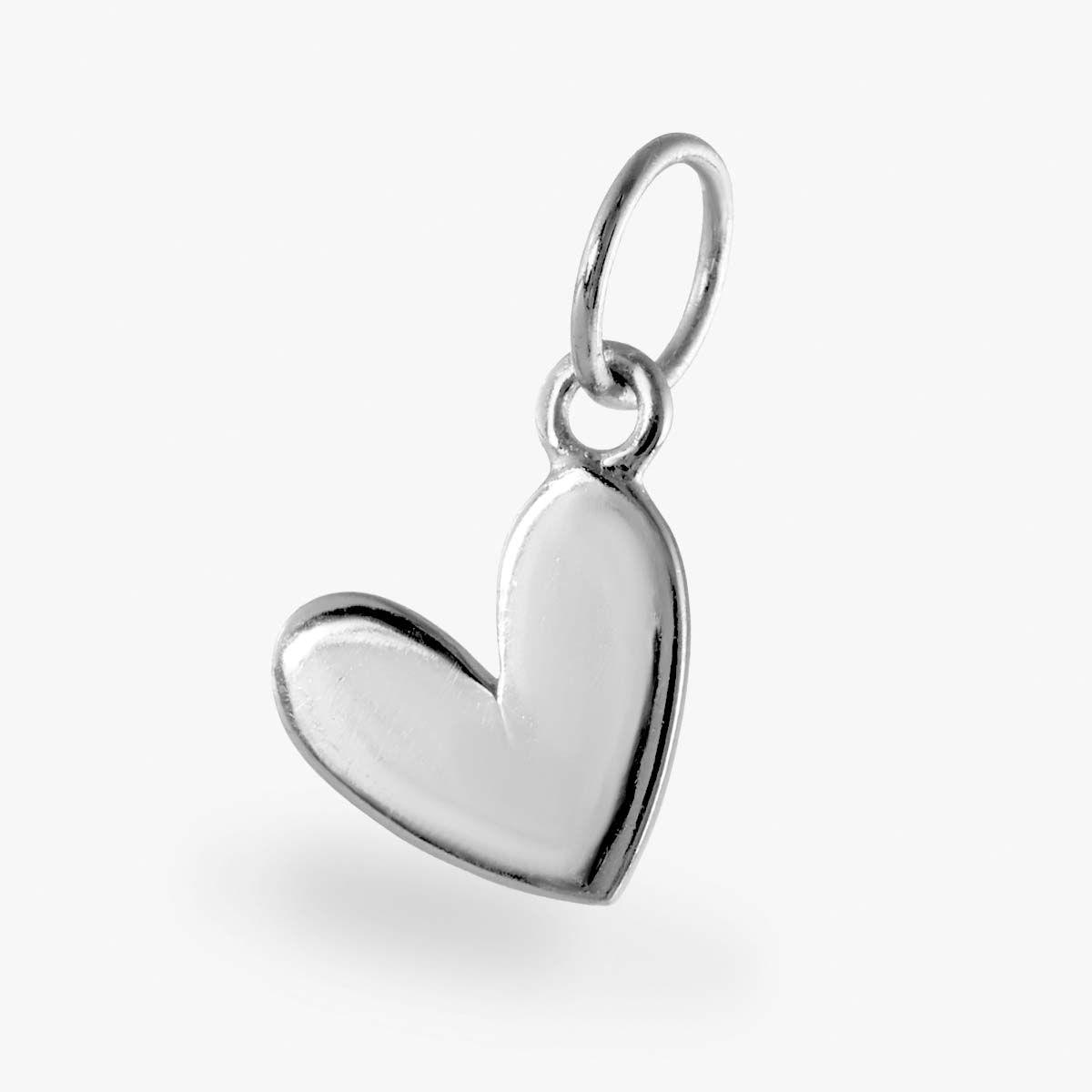 Herz Anhänger - Kettenanhänger - Silber