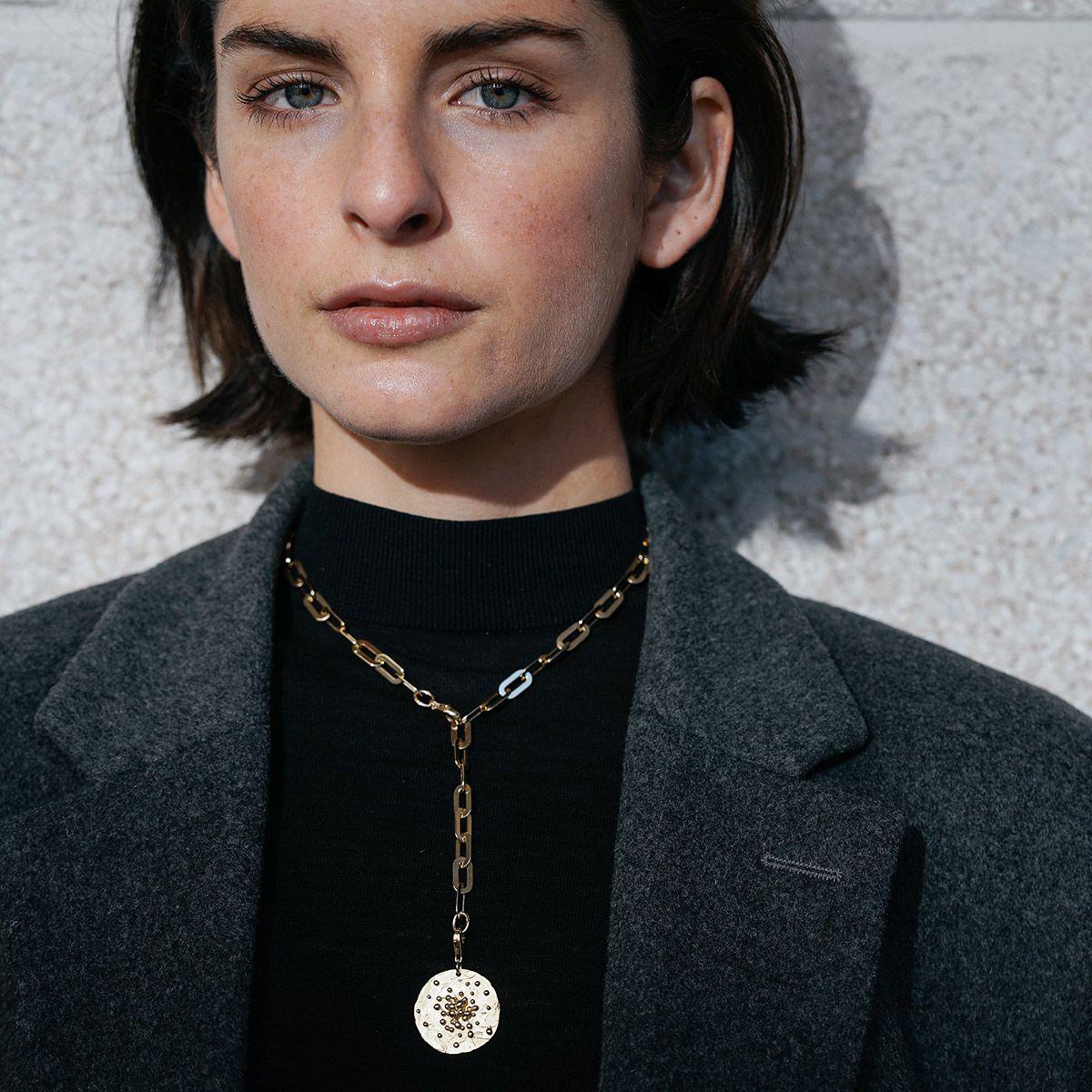 Linda - Halsketten - Silber