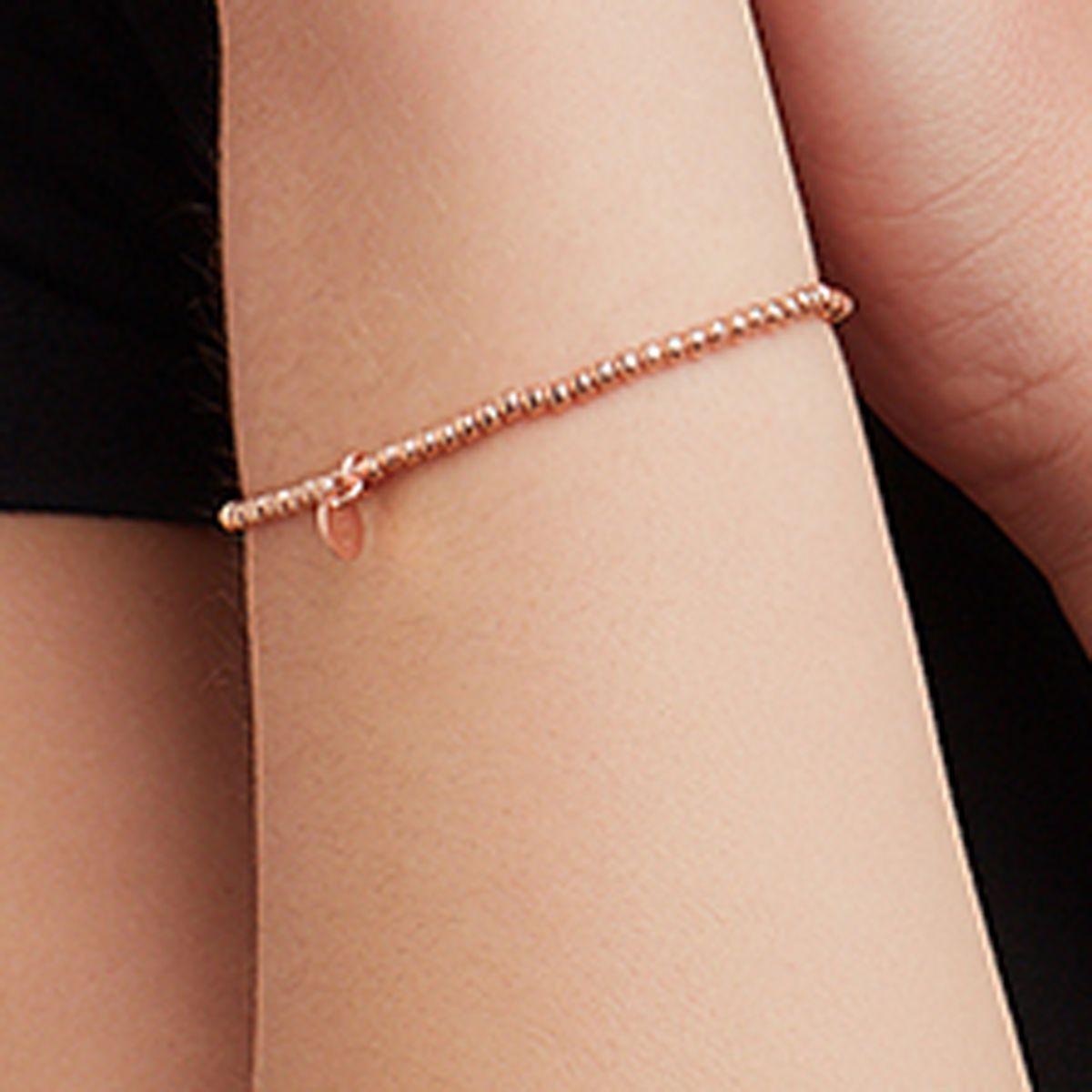 Elastische Armbänder - Roségold