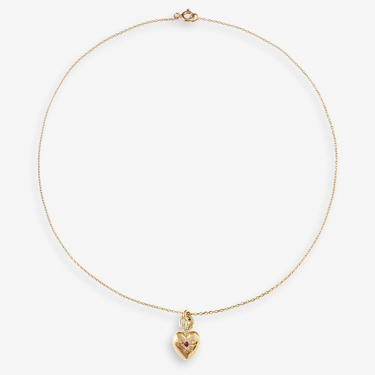 Valentin Ruby - Halsketten - 24k vergoldet