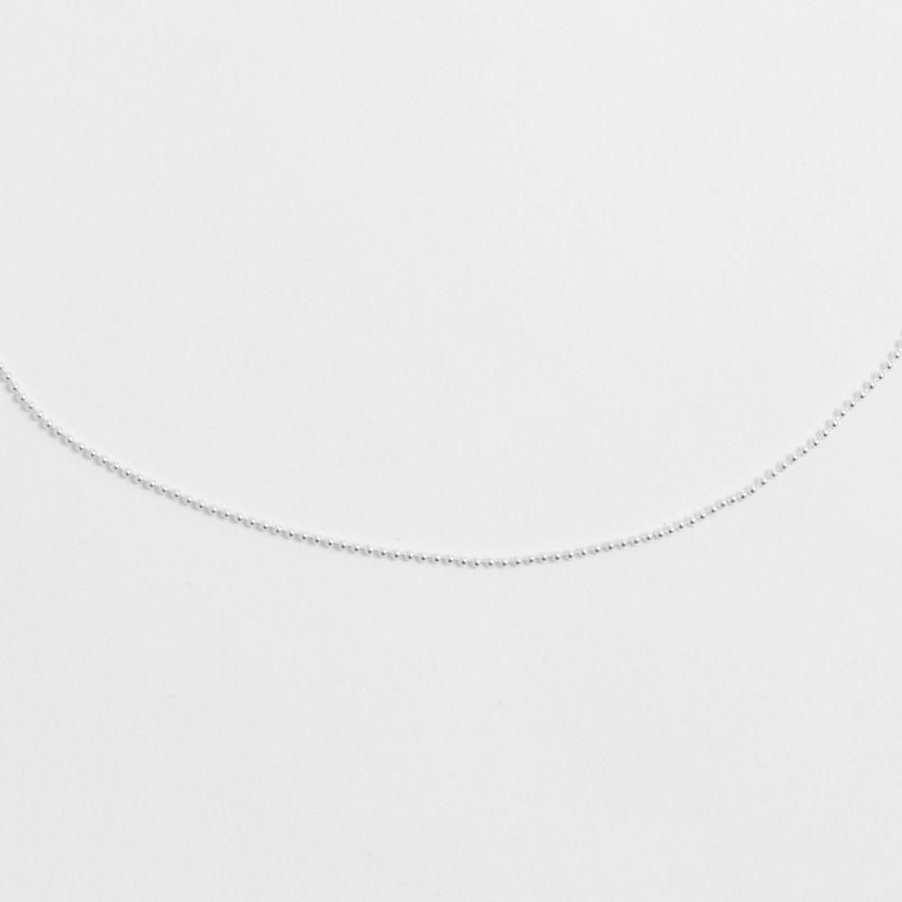Kugelkette - Silber