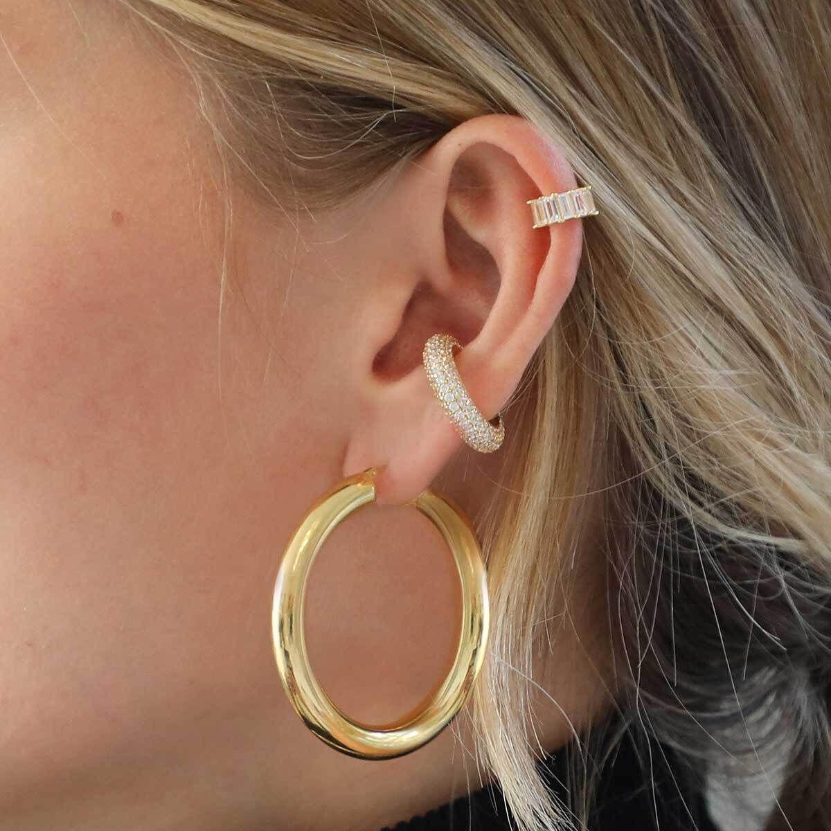Disco - Earcuffs - Gold