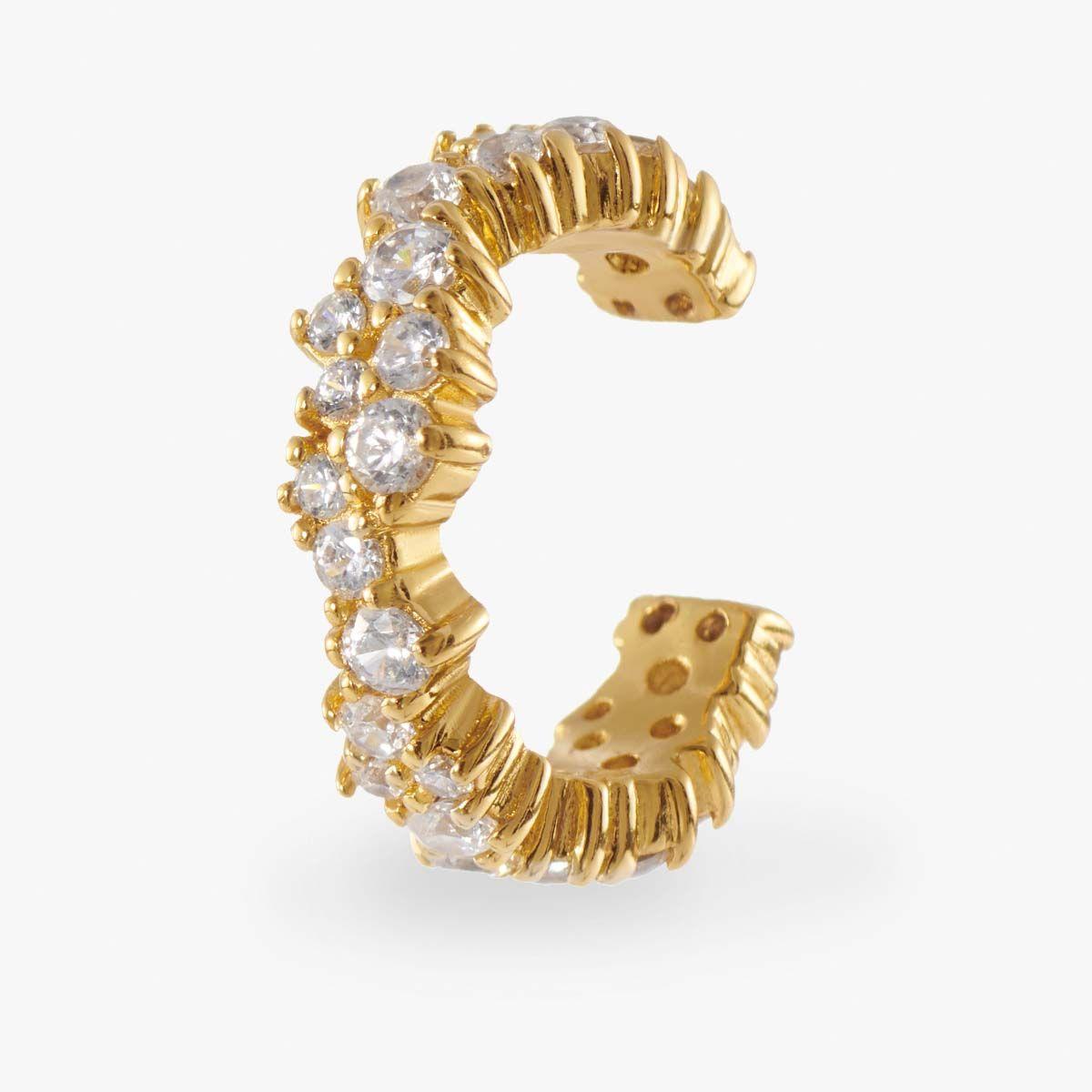 Chrysanthe - Earcuffs - Gold