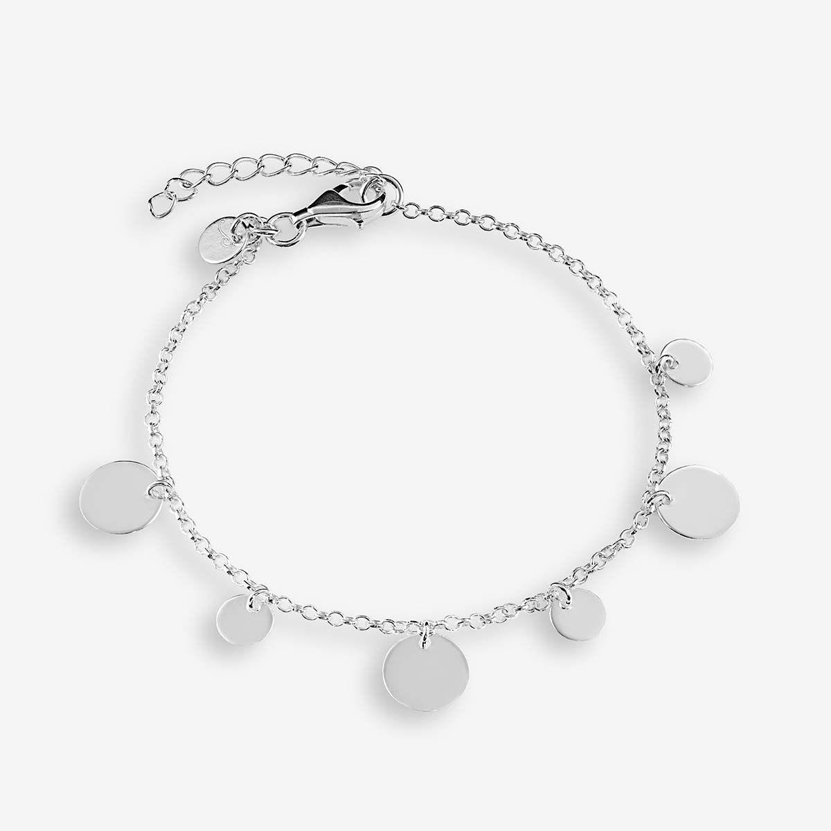 Louanne - Armband - Silber