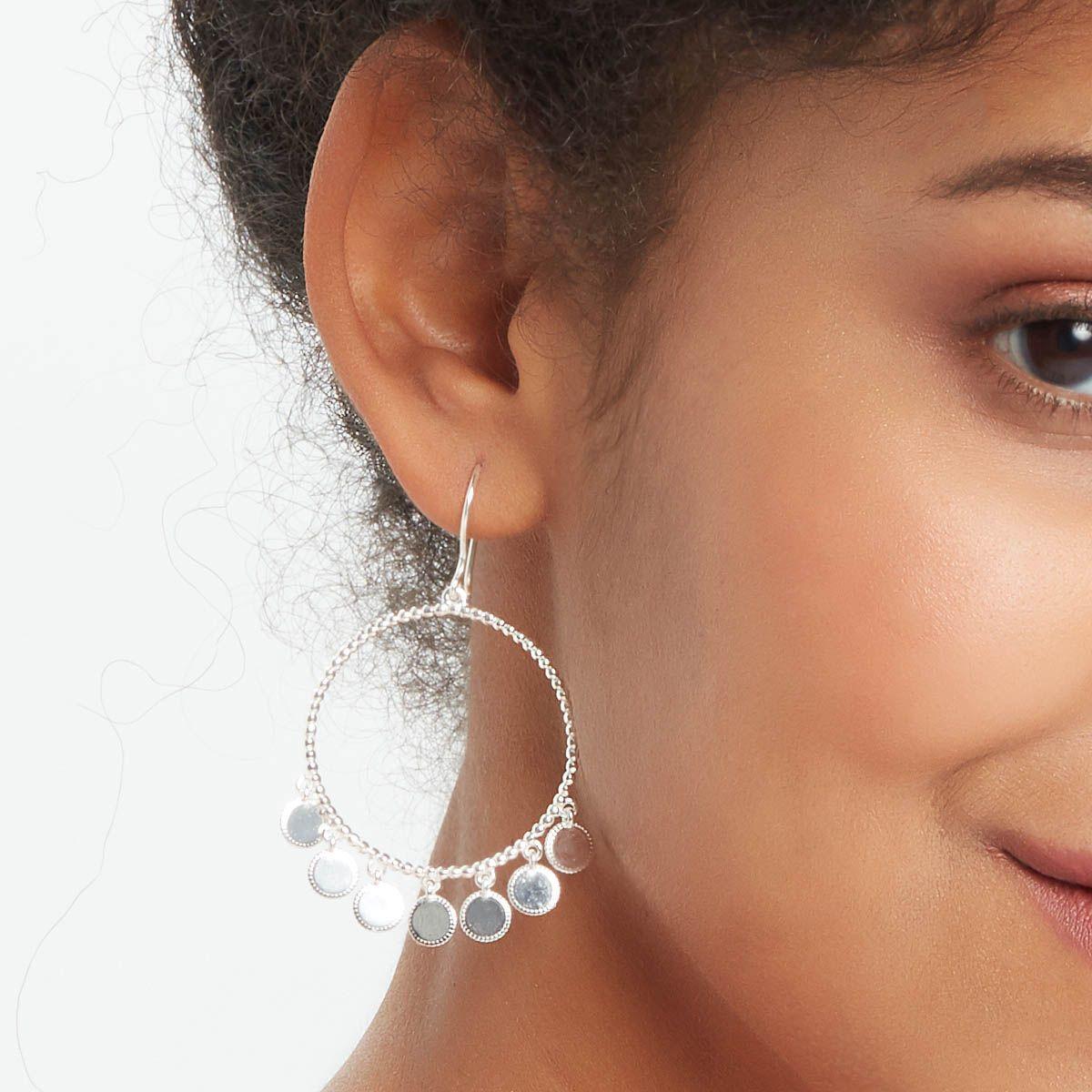 Ossenna - Ohrhänger - Silber