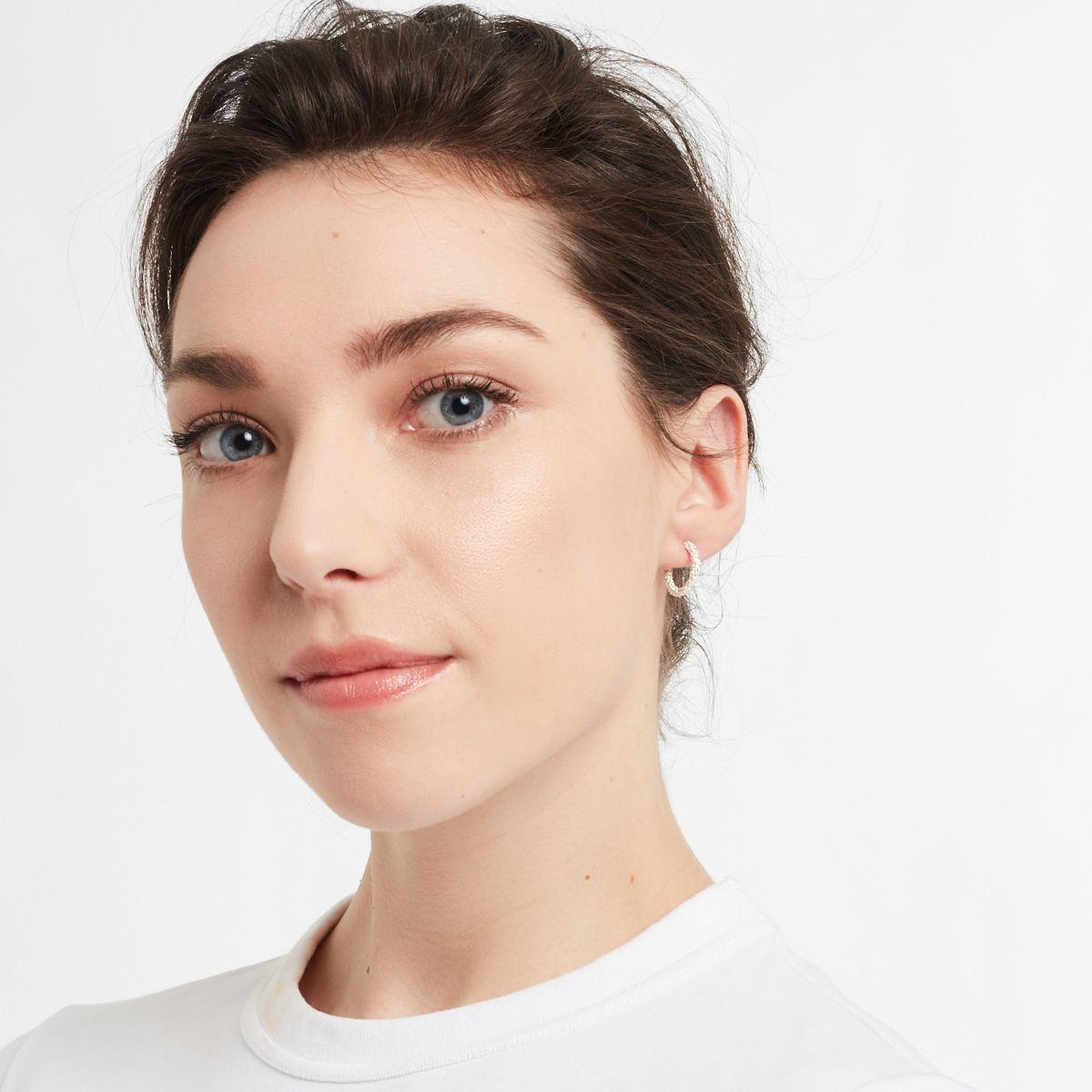 Faye Mini - Creolen - Silber