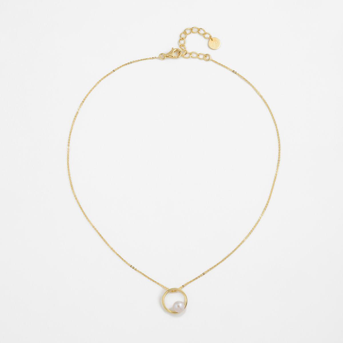 Bernice - PerlenKetten - Gold