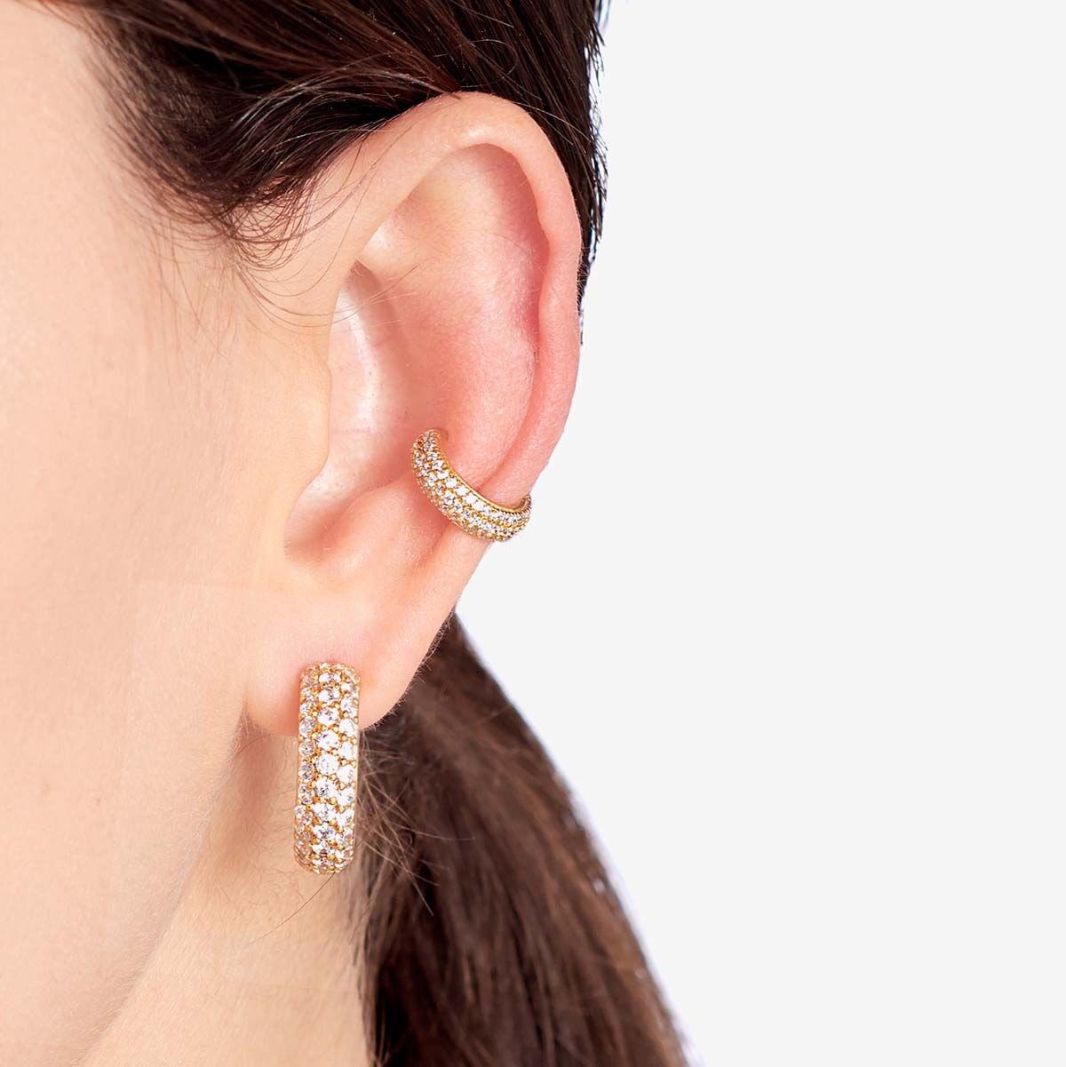 Mary-Kate - Earcuffs - Silber