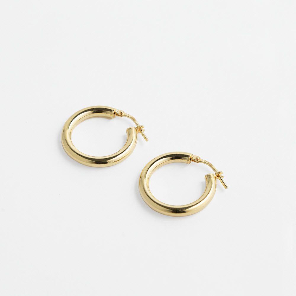 Minou Tiny – Creolen – 18k vergoldet