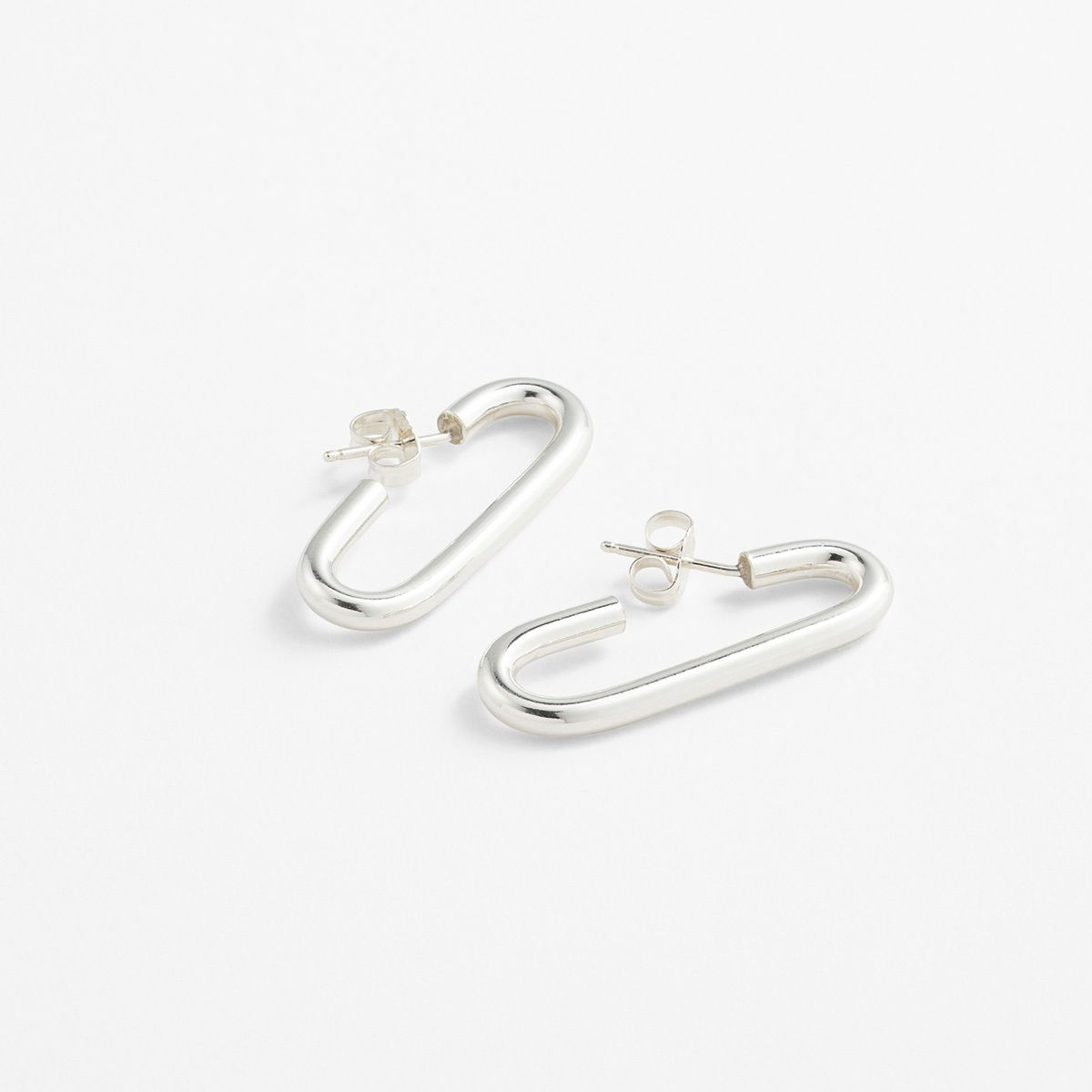 Mono II - Ohrhänger - Silber