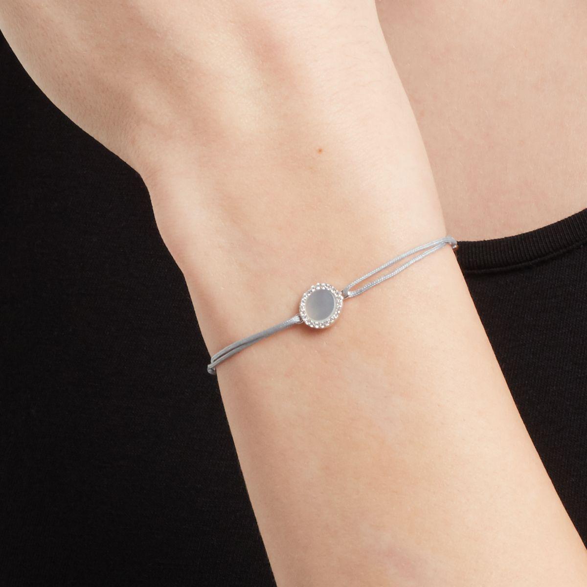 Violetta - Armband - Hellgrau