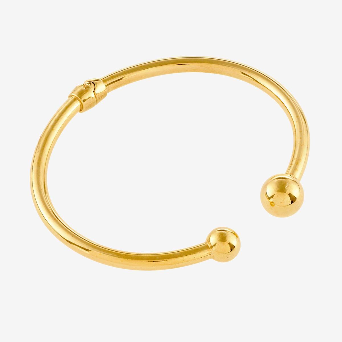 Bold Open - Armreifen - Gold