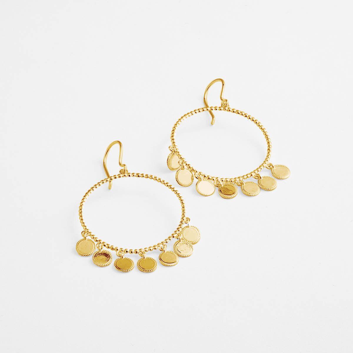 Ossenna - Ohrhänger - Gold