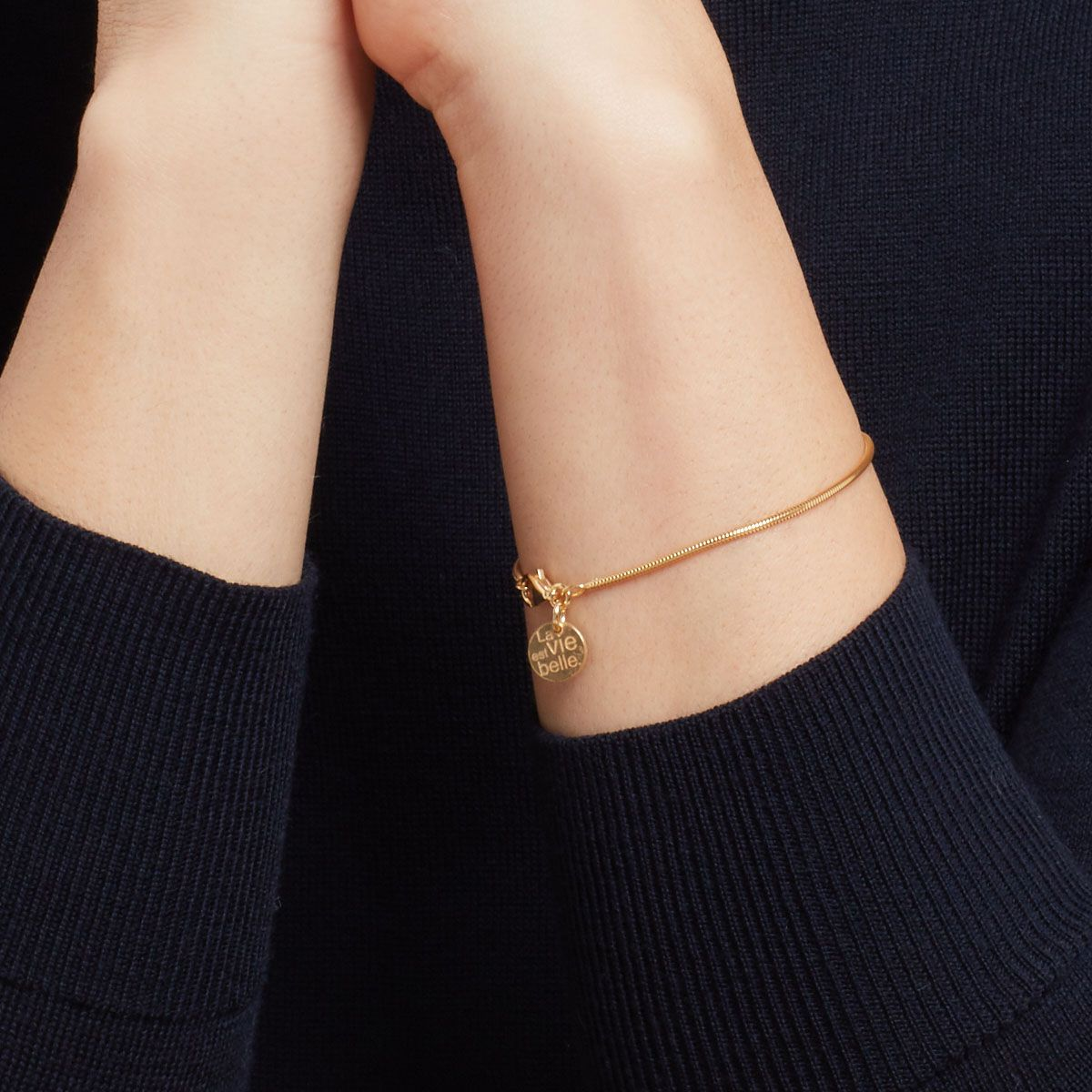Calliope - Armband - 18k vergoldet