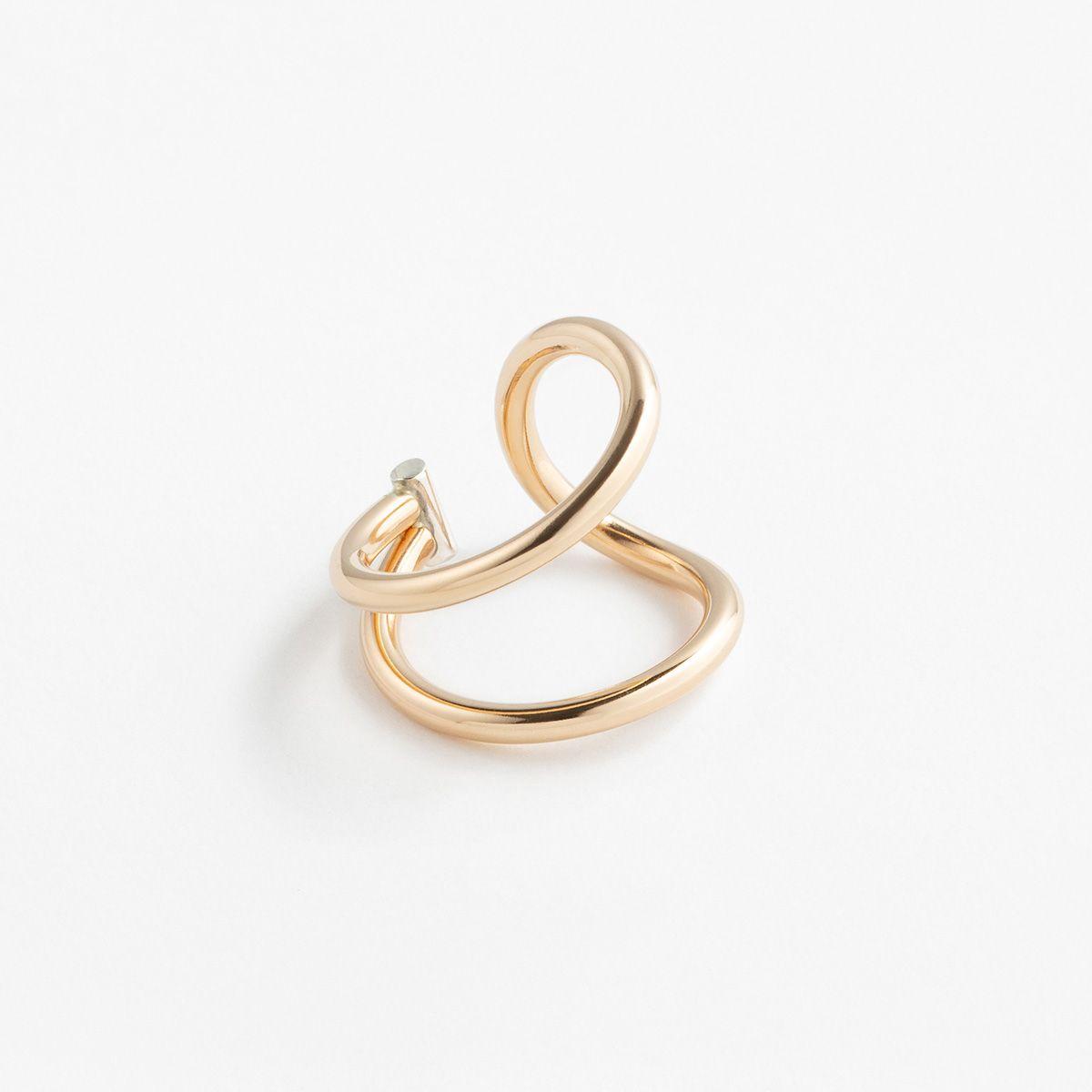 Big Swoop - Ringe - Silber und Gold