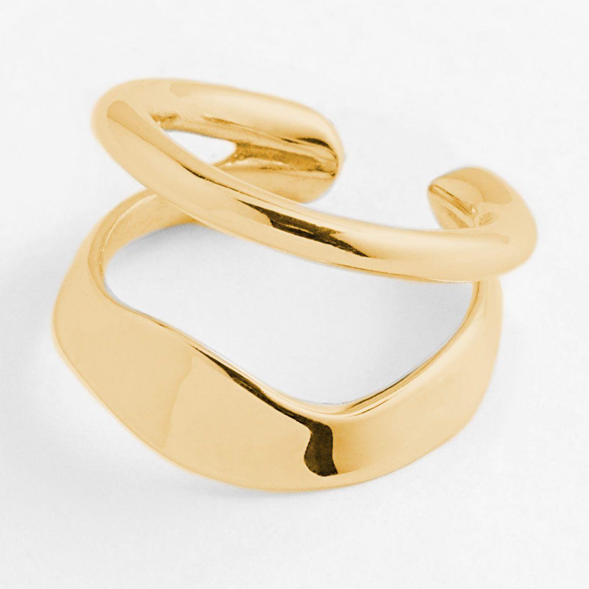 Ripples - Earcuffs - Gold