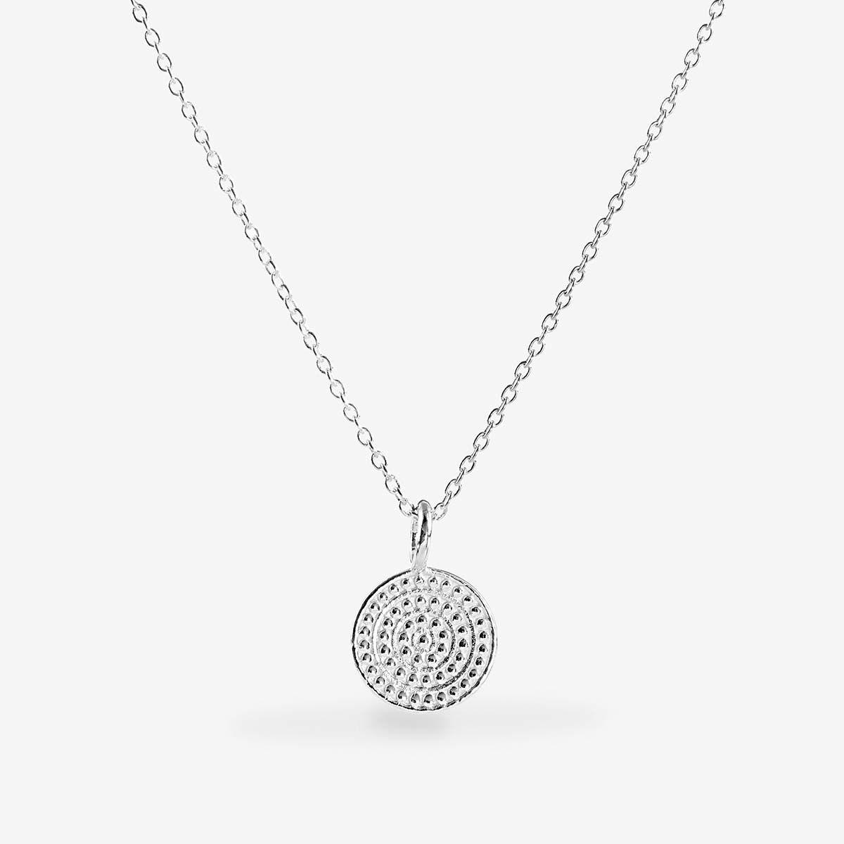 Coin necklace - Halsketten - Silber